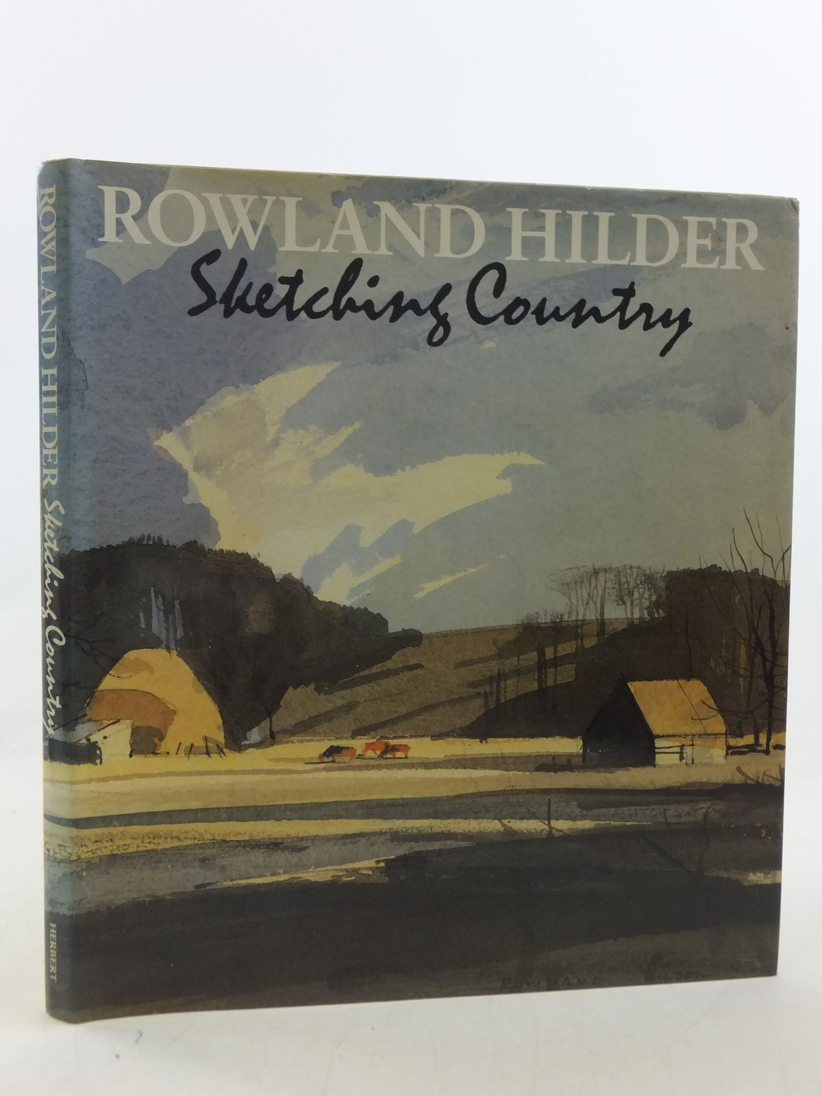 Photo of ROLAND HILDER SKETCHING COUNTRY written by Hilder, Rowland<br />Thomas, Denis illustrated by Hilder, Rowland published by The Herbert Press (STOCK CODE: 2113838)  for sale by Stella & Rose's Books