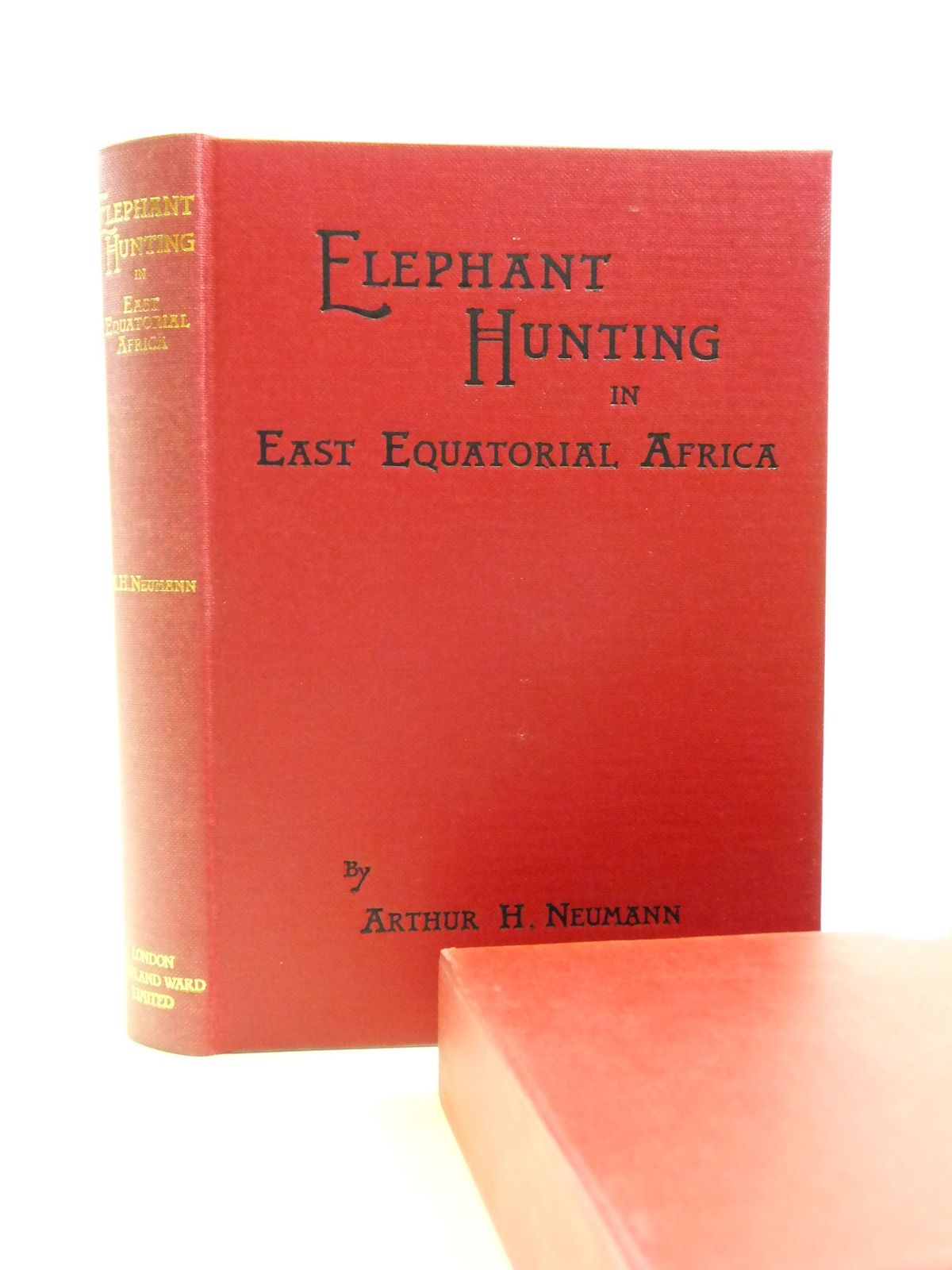 Photo of ELEPHANT-HUNTING IN EAST EQUATORIAL AFRICA written by Neumann, Arthur H. published by Rowland Ward, Trophy Room Books (STOCK CODE: 2113861)  for sale by Stella & Rose's Books