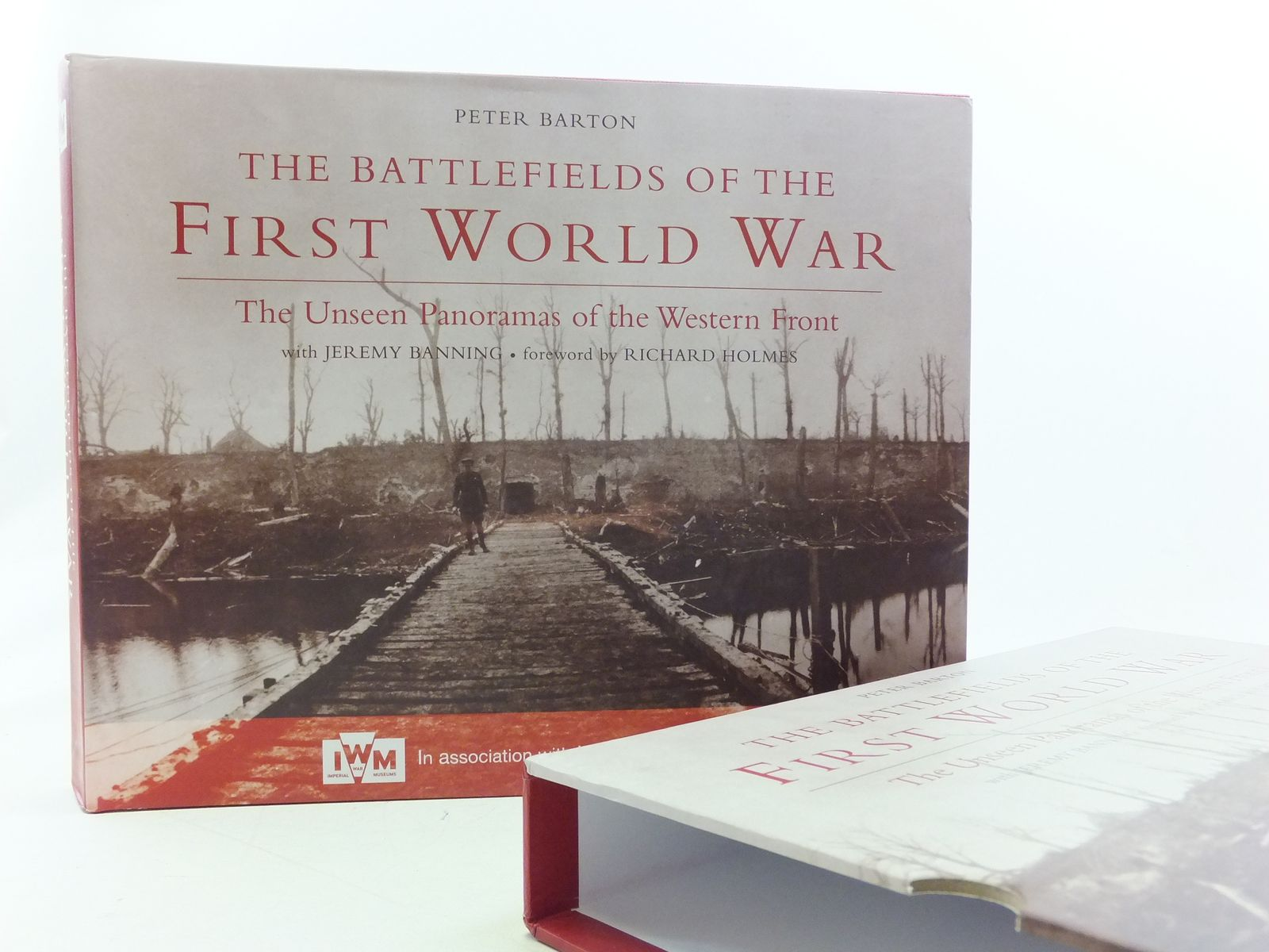 Photo of THE BATTLEFIELDS OF THE FIRST WORLD WAR: THE UNSEEN PANORAMAS OF THE WESTERN FRONT written by Barton, Peter published by Constable (STOCK CODE: 2113878)  for sale by Stella & Rose's Books