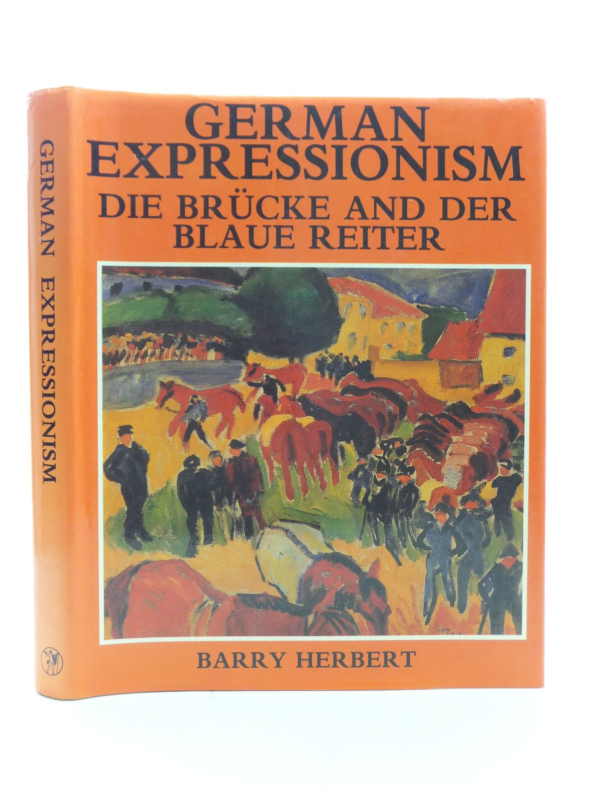Photo of GERMAN EXPRESSIONISM DIE BRUCKE AND DER BLAUE REITER written by Herbert, Barry published by Jupiter Books (STOCK CODE: 2113881)  for sale by Stella & Rose's Books
