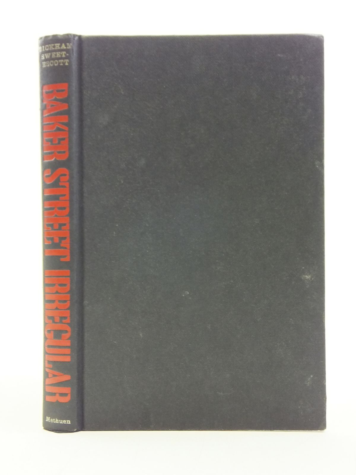 Photo of BAKER STREET IRREGULAR written by Sweet-Escott, Bickham published by Methuen & Co. Ltd. (STOCK CODE: 2113898)  for sale by Stella & Rose's Books