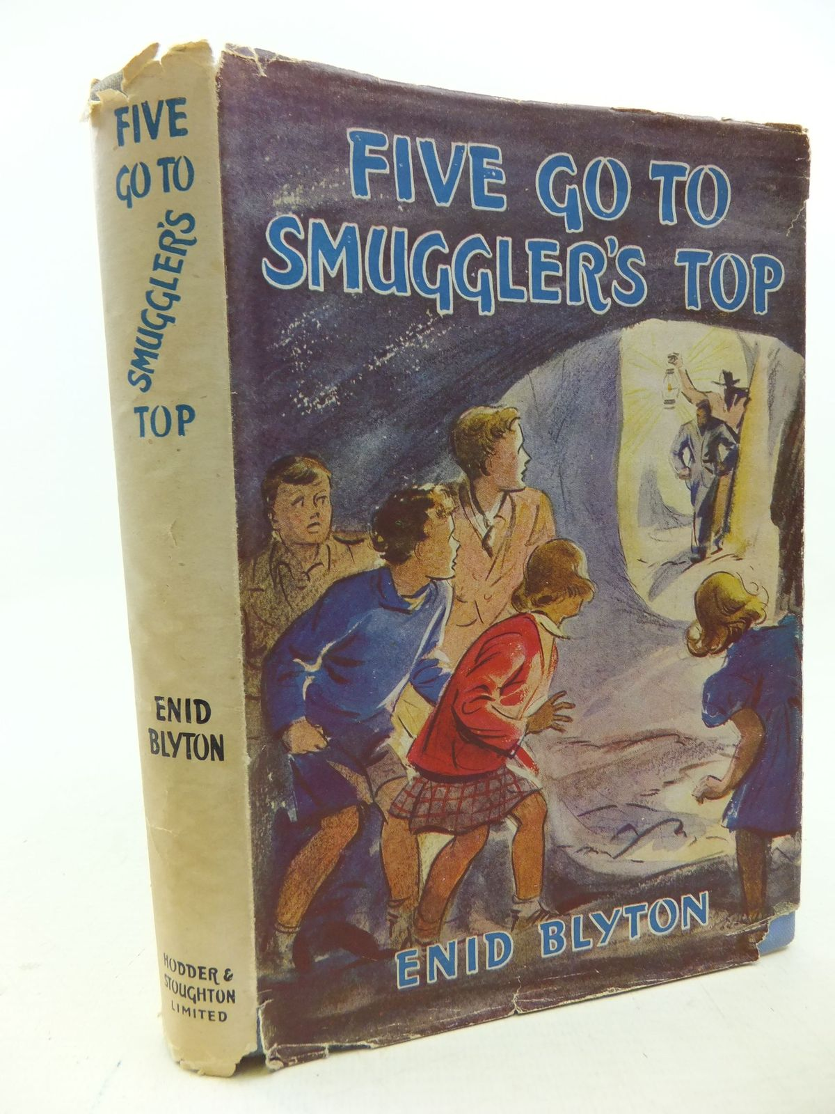 Photo of FIVE GO TO SMUGGLER'S TOP written by Blyton, Enid illustrated by Soper, Eileen published by Hodder & Stoughton (STOCK CODE: 2113904)  for sale by Stella & Rose's Books