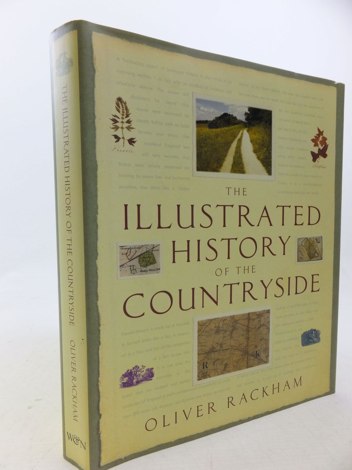 Photo of THE ILLUSTRATED HISTORY OF THE COUNTRYSIDE written by Rackham, Oliver published by Weidenfeld & Nicolson (STOCK CODE: 2113998)  for sale by Stella & Rose's Books