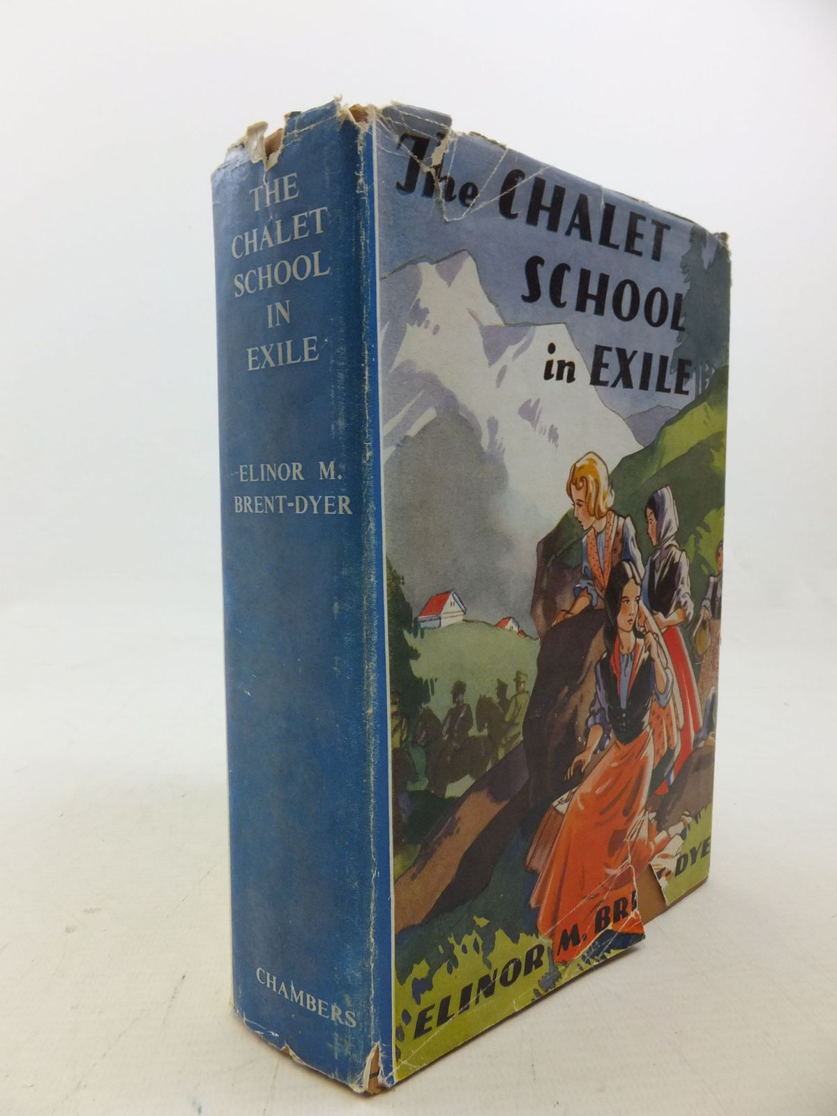 Photo of THE CHALET SCHOOL IN EXILE written by Brent-Dyer, Elinor M. illustrated by Brisley, Nina K. published by W. & R. Chambers Limited (STOCK CODE: 2114002)  for sale by Stella & Rose's Books