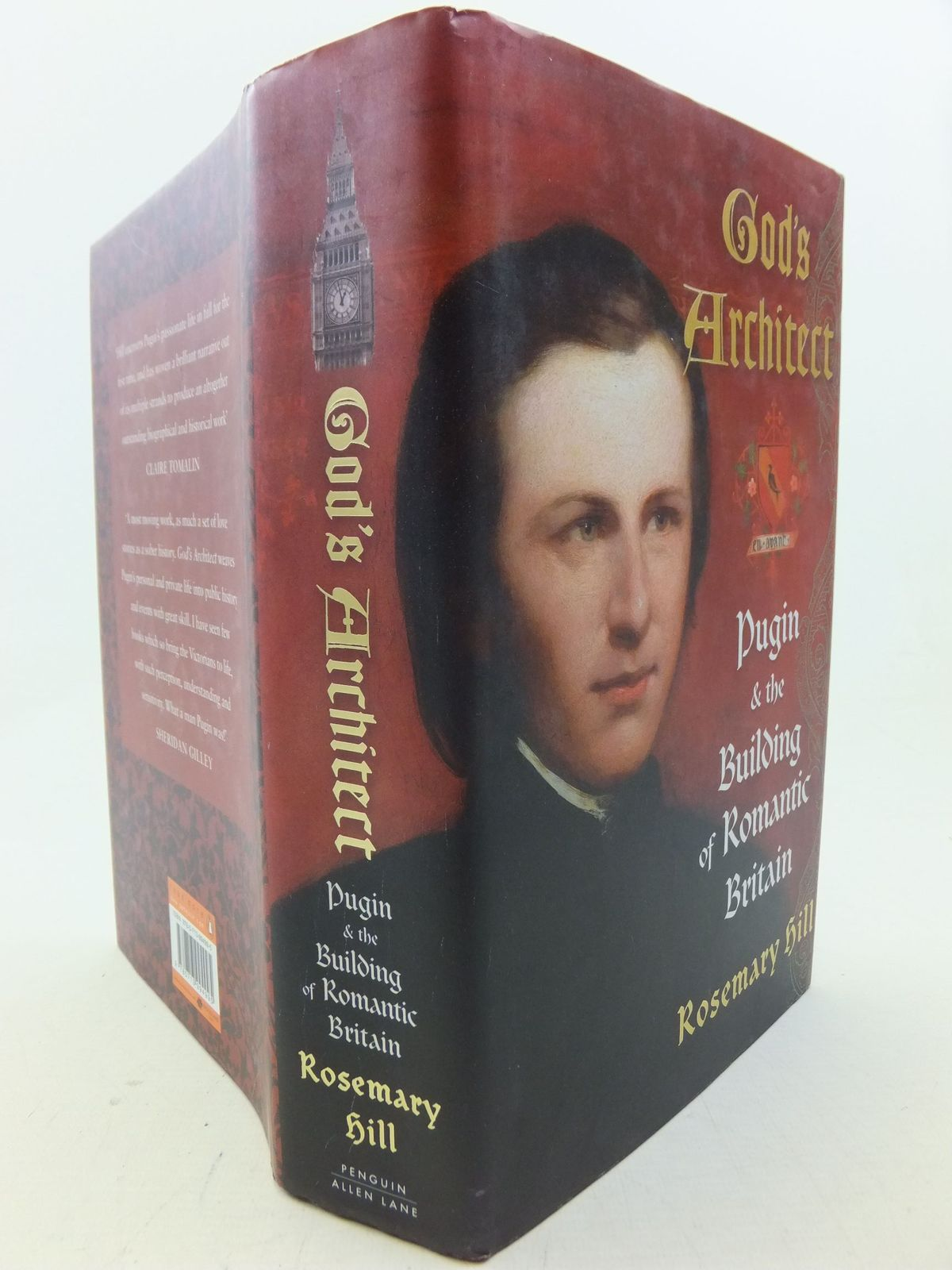 Photo of GOD'S ARCHITECT: PUGIN AND THE BUILDING OF ROMANTIC BRITAIN written by Hill, Rosemary published by Allen Lane (STOCK CODE: 2114074)  for sale by Stella & Rose's Books