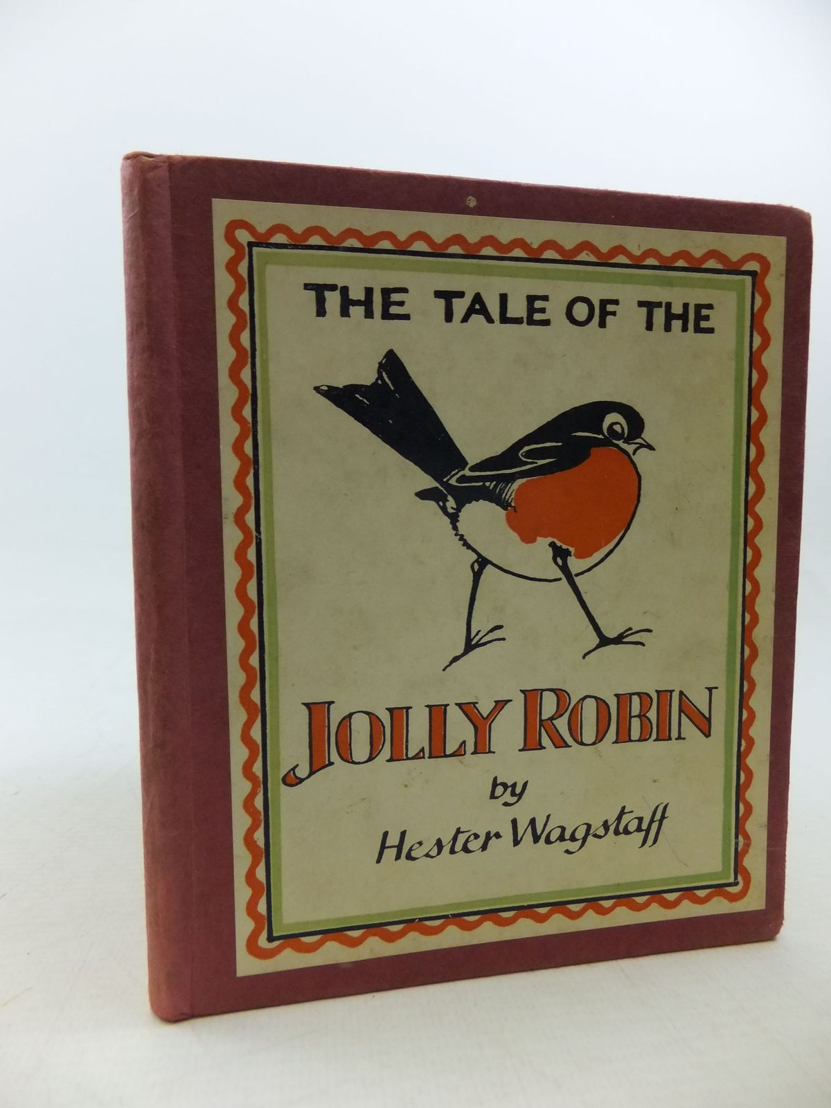 Photo of THE TALE OF THE JOLLY ROBIN written by Wagstaff, Hester illustrated by Wagstaff, Hester published by Faber & Faber Ltd. (STOCK CODE: 2114083)  for sale by Stella & Rose's Books