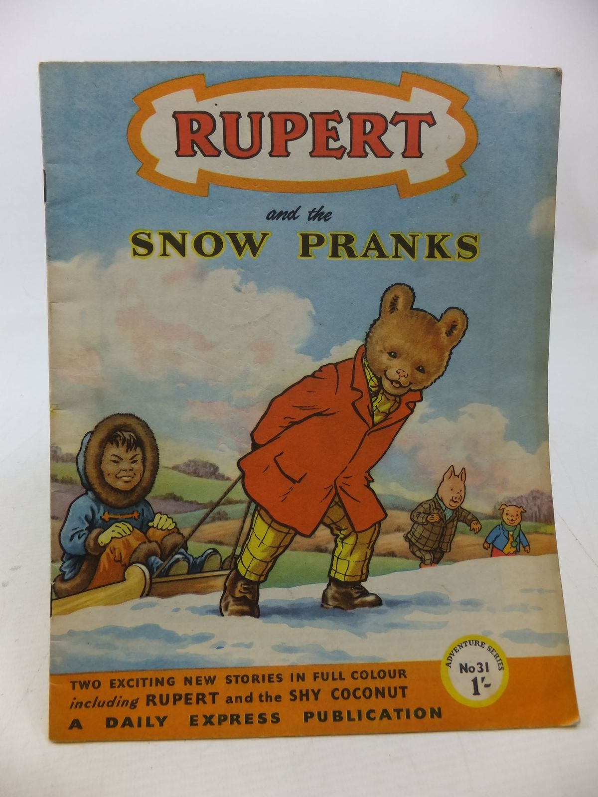 Photo of RUPERT ADVENTURE SERIES No. 31 - RUPERT AND THE SNOW PRANKS written by Bestall, Alfred published by Daily Express (STOCK CODE: 2114204)  for sale by Stella & Rose's Books