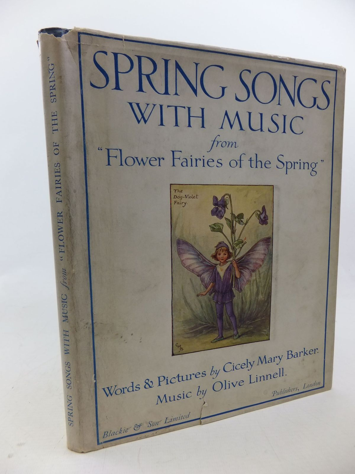 Photo of SPRING SONGS WITH MUSIC written by Barker, Cicely Mary<br />Linnell, Olive illustrated by Barker, Cicely Mary published by Blackie & Son Ltd. (STOCK CODE: 2114228)  for sale by Stella & Rose's Books