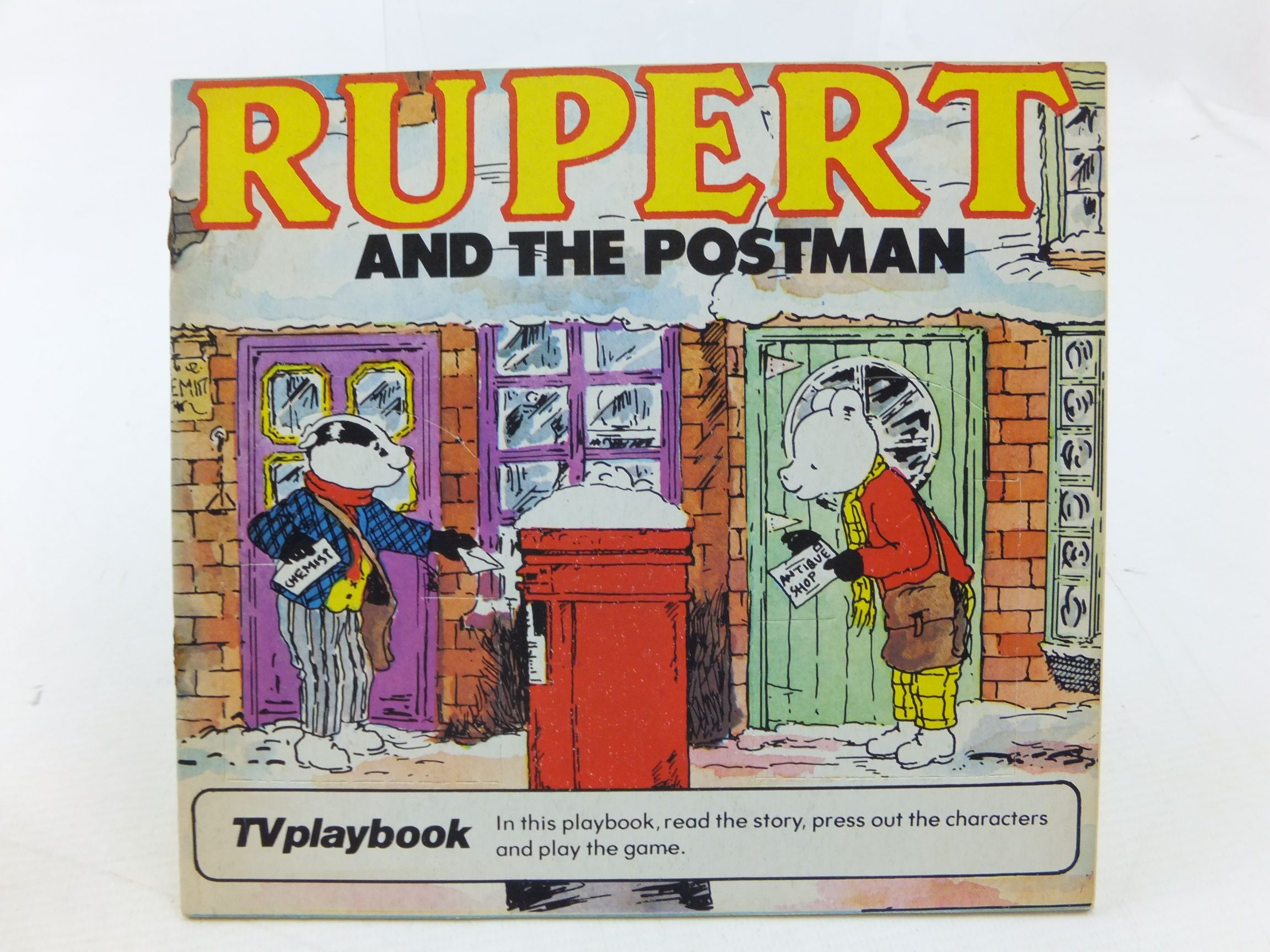 Photo of RUPERT AND THE POSTMAN written by Wells, Mick illustrated by Wells, Mick published by Michael Stanfield Holdings (STOCK CODE: 2114269)  for sale by Stella & Rose's Books