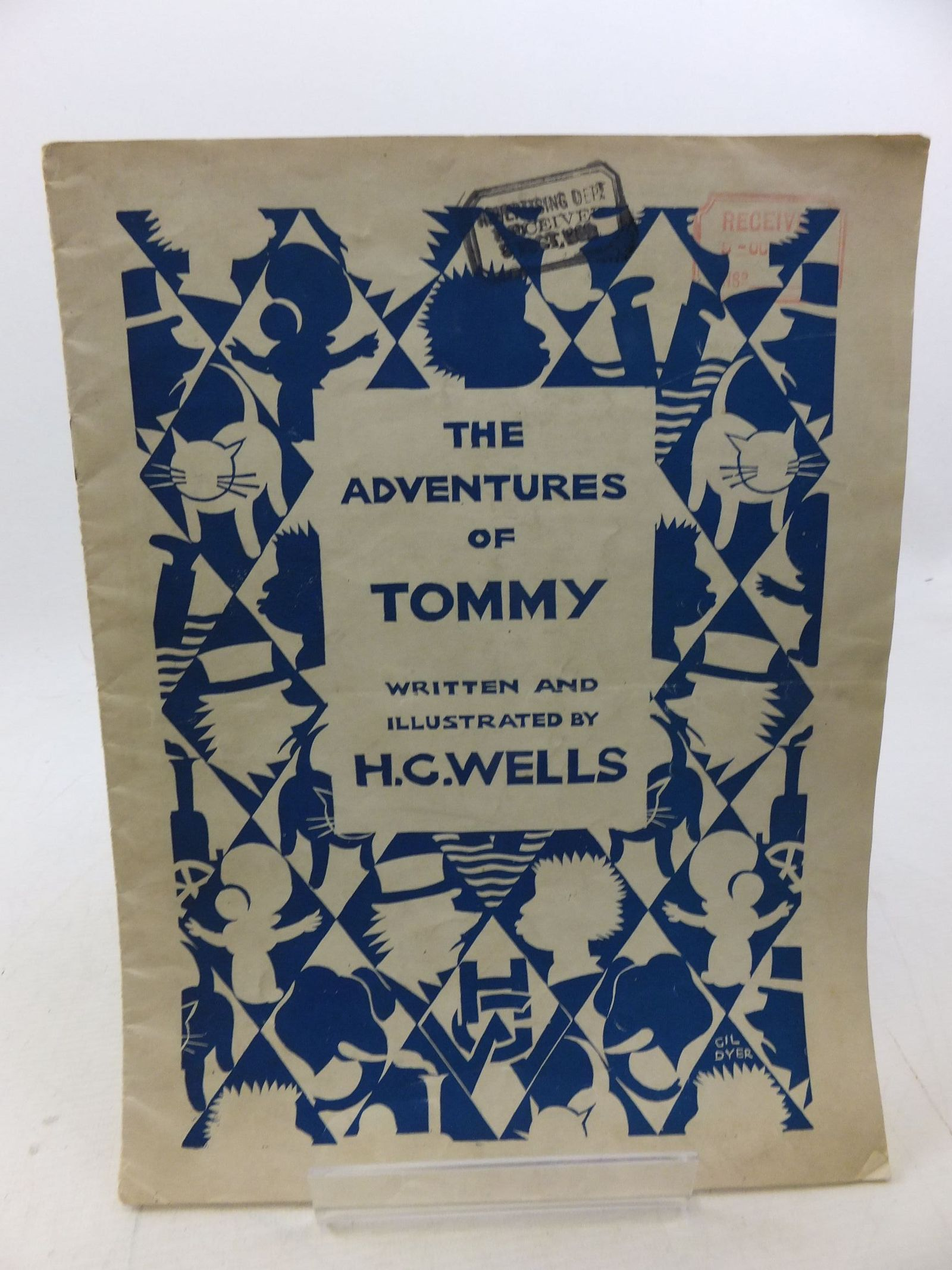 Photo of THE ADVENTURES OF TOMMY written by Wells, H.G. illustrated by Wells, H.G. published by The Amalgamated Press (STOCK CODE: 2114357)  for sale by Stella & Rose's Books