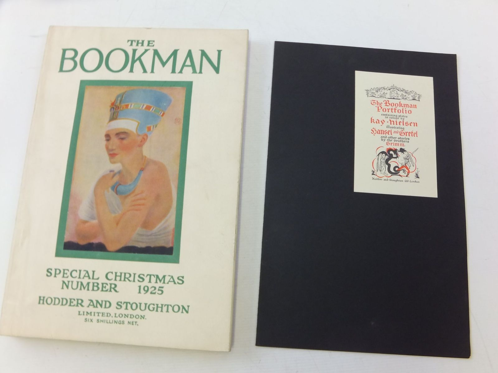 Photo of THE BOOKMAN SPECIAL CHRISTMAS NUMBER 1925 illustrated by Brickdale, Eleanor Fortescue<br />Edwards, Lionel<br />Robinson, Charles<br />Shepard, E.H.<br />Nielsen, Kay published by Hodder & Stoughton (STOCK CODE: 2114362)  for sale by Stella & Rose's Books
