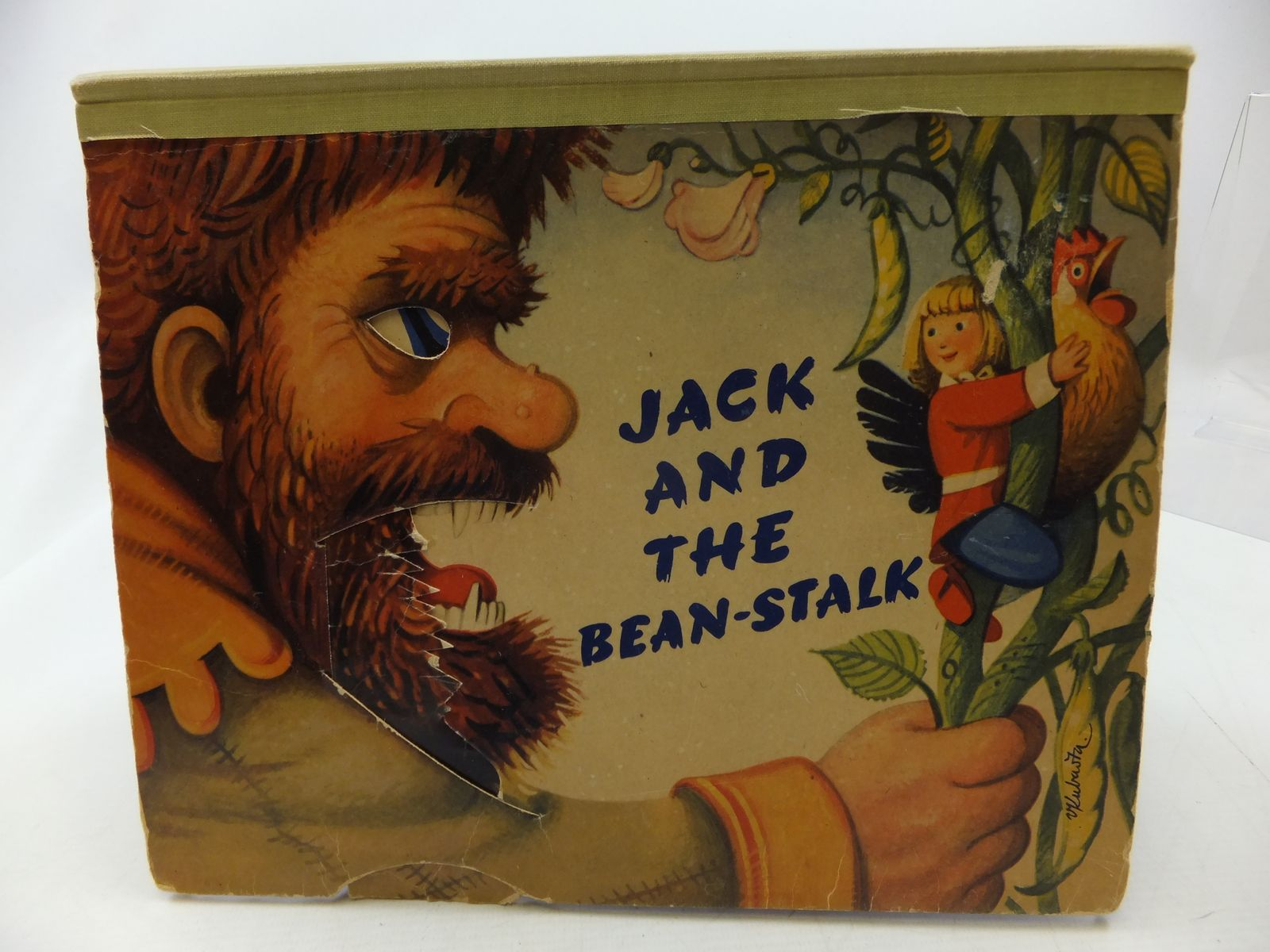 Photo of HOP O' MY THUMB and JACK AND THE BEANSTALK illustrated by Kubasta, Vojtech published by Bancroft & Co.(Publishers) Ltd. (STOCK CODE: 2114411)  for sale by Stella & Rose's Books