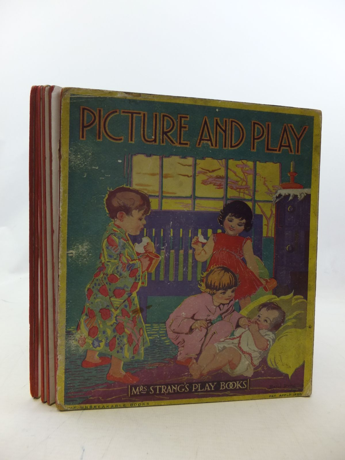 Photo of PICTURE AND PLAY written by Strang, Mrs. Herbert illustrated by Rees, E. Dorothy<br />Sowerby, Millicent<br />et al.,  published by Humphrey Milford, Oxford University Press (STOCK CODE: 2114437)  for sale by Stella & Rose's Books