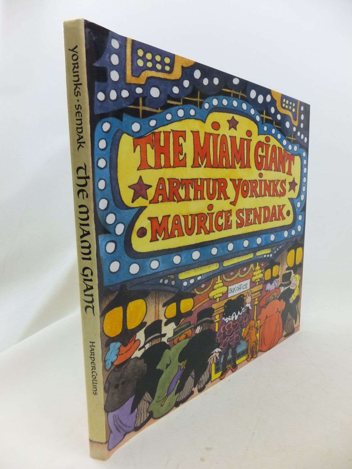 Photo of THE MIAMI GIANT written by Yorinks, Arthur illustrated by Sendak, Maurice published by Harper Collins (STOCK CODE: 2114494)  for sale by Stella & Rose's Books