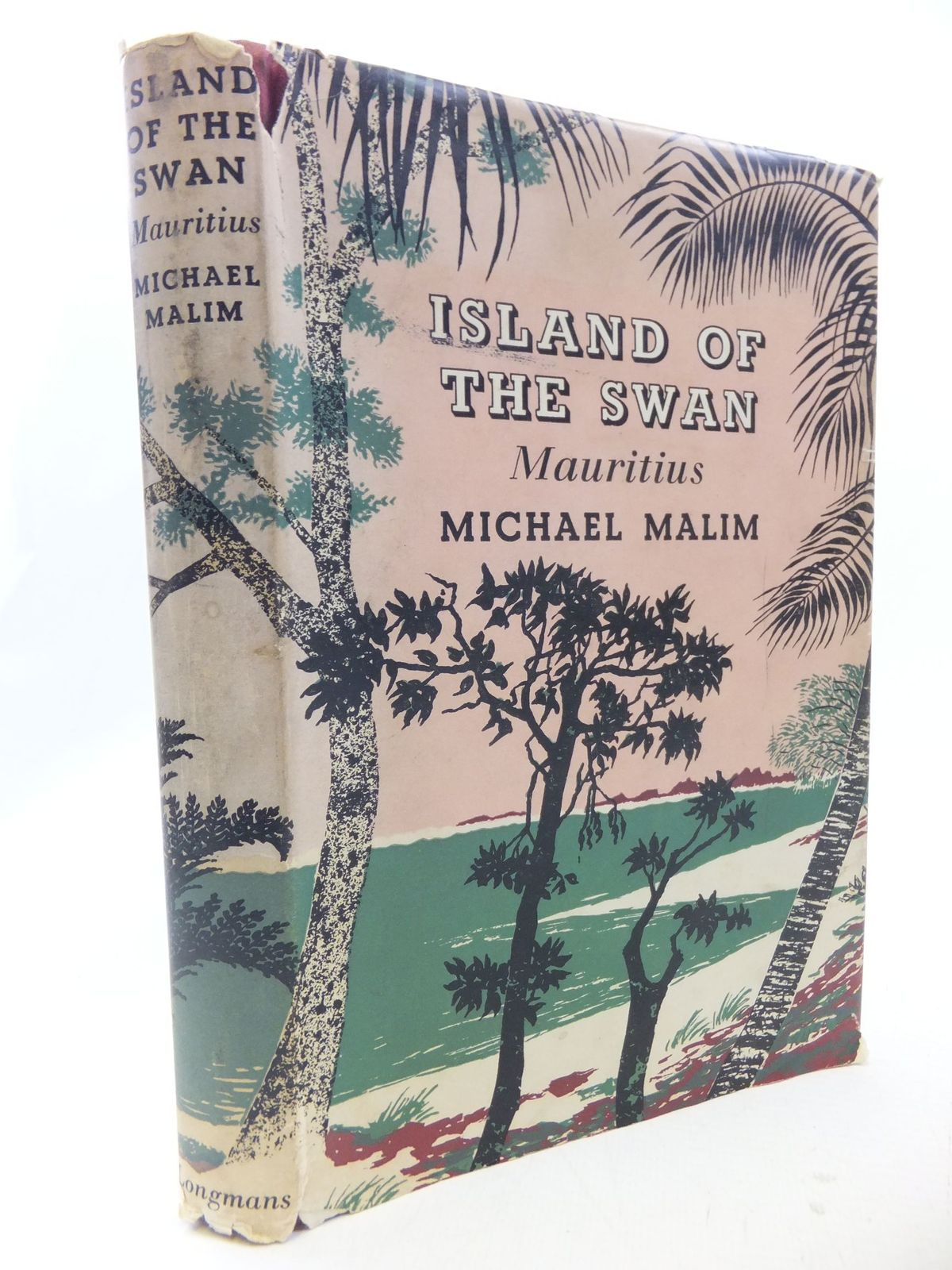 Mauritian Cookbook Cover : The island of swan mauritius written by malim michael