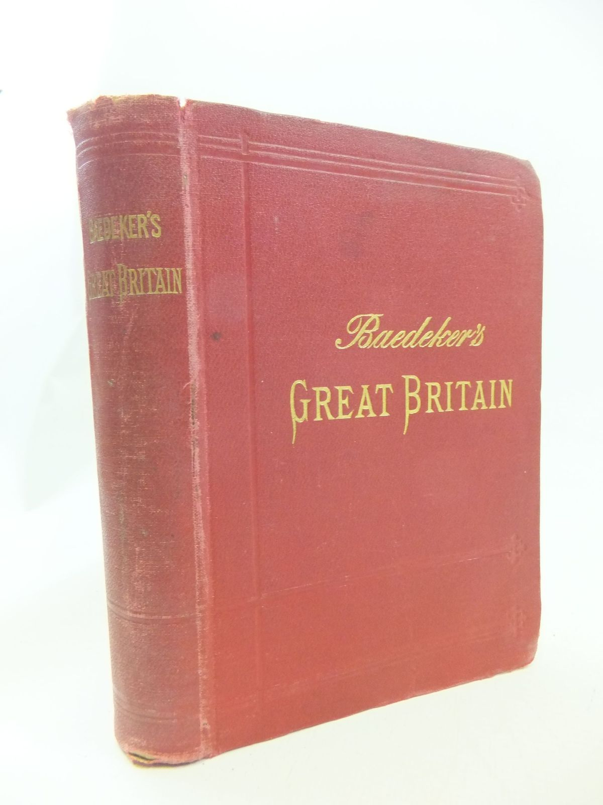 Photo of GREAT BRITAIN written by Baedeker, Karl published by Karl Baedeker (STOCK CODE: 2114631)  for sale by Stella & Rose's Books