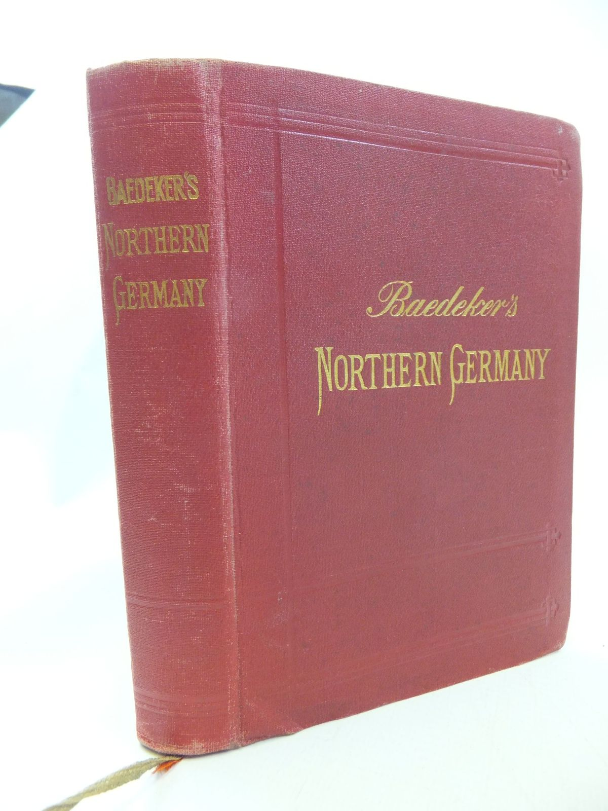 Photo of NORTHERN GERMANY written by Baedeker, Karl published by Karl Baedeker (STOCK CODE: 2114633)  for sale by Stella & Rose's Books