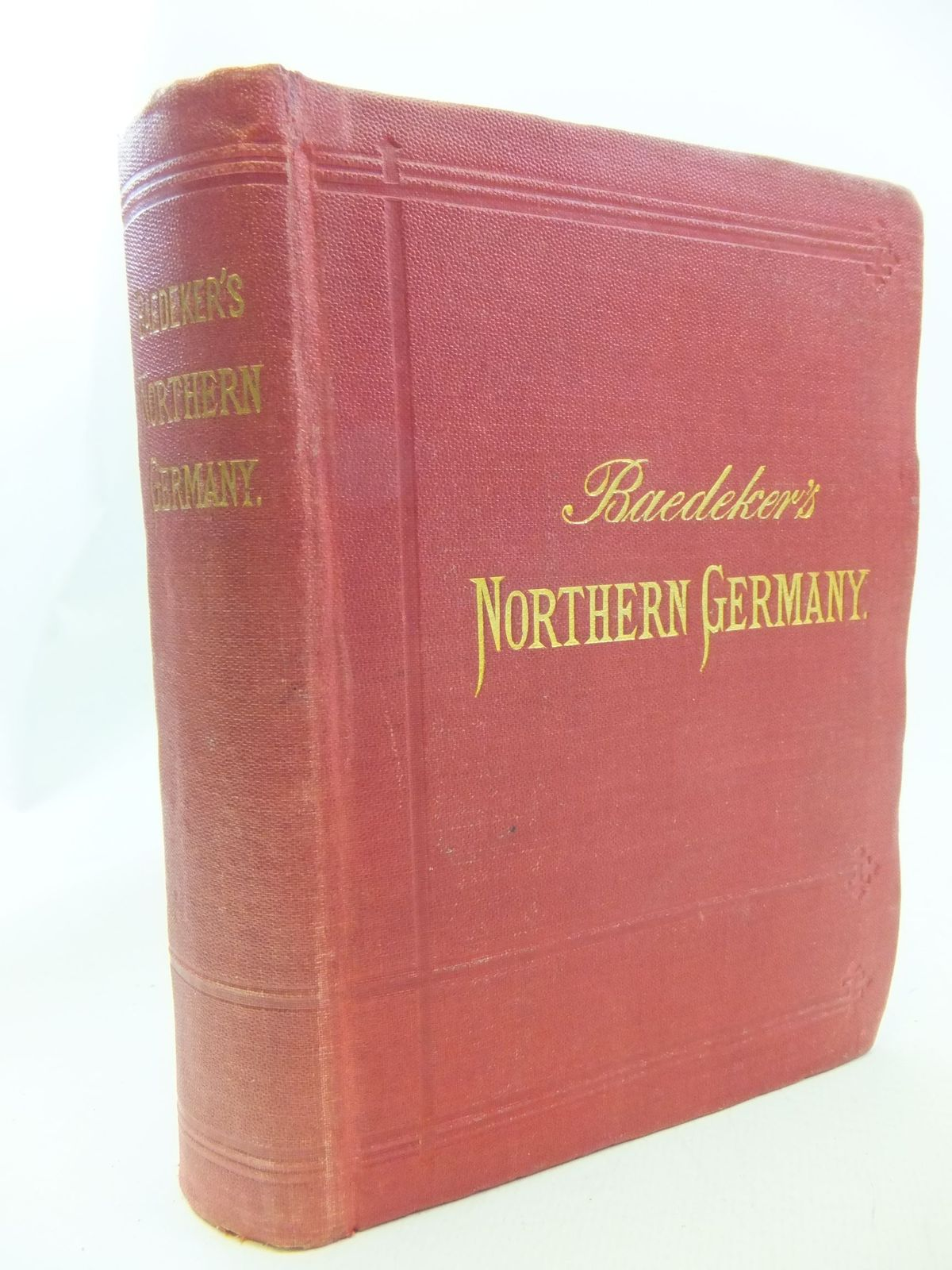 Photo of NORTHERN GERMANY written by Baedeker, Karl published by Karl Baedeker (STOCK CODE: 2114635)  for sale by Stella & Rose's Books