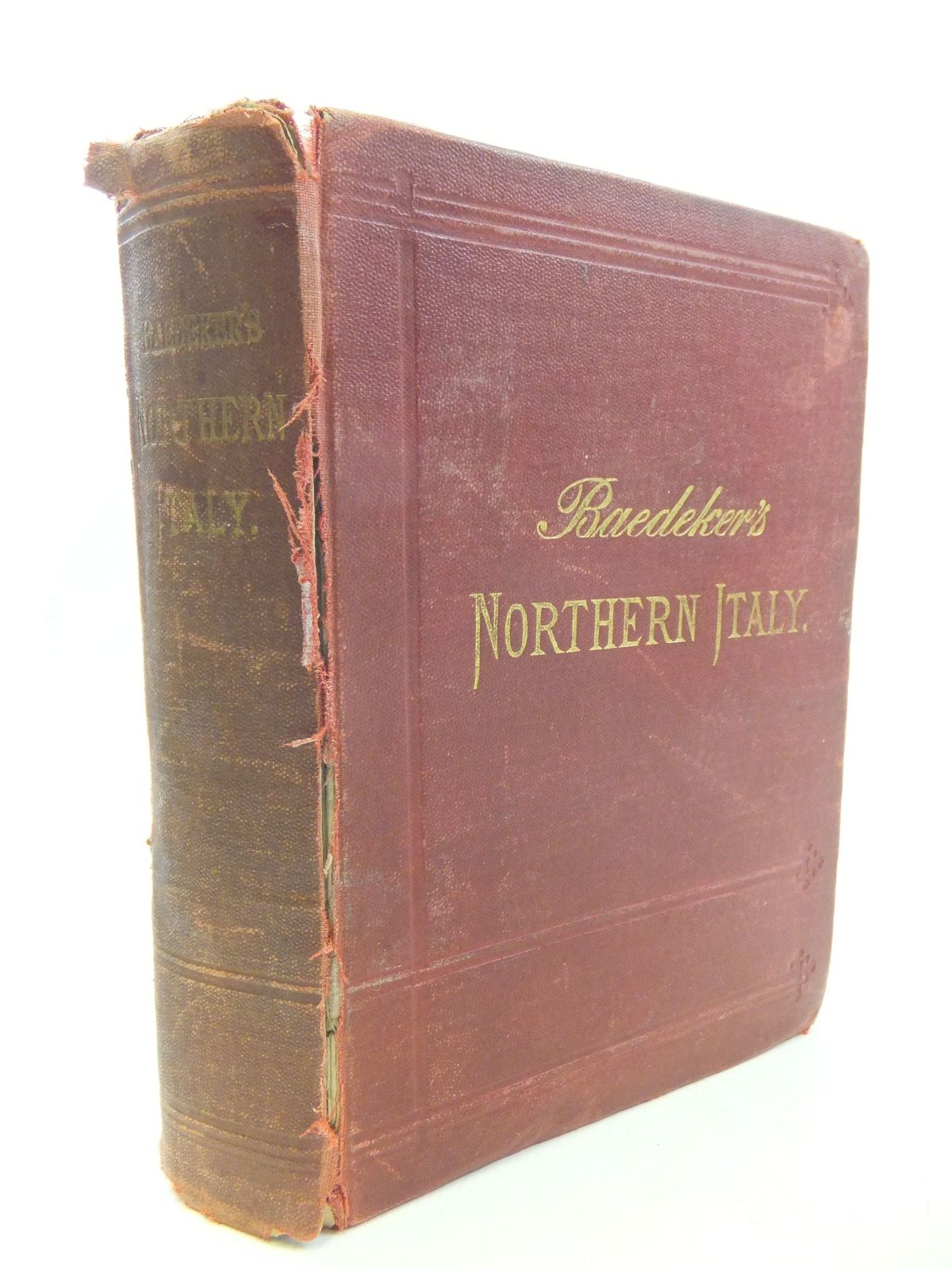 Photo of NORTHERN ITALY written by Baedeker, Karl published by Karl Baedeker (STOCK CODE: 2114640)  for sale by Stella & Rose's Books