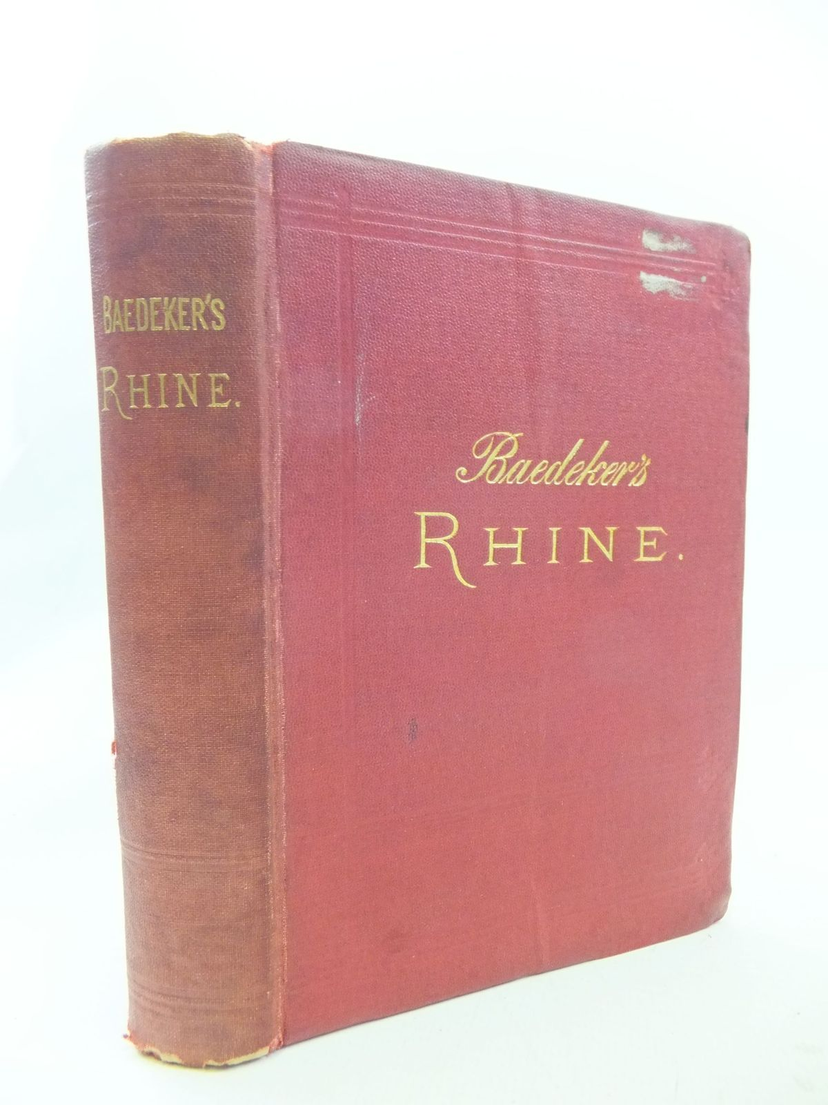 Photo of THE RHINE FROM ROTTERDAM TO CONSTANCE written by Baedeker, Karl published by Karl Baedeker (STOCK CODE: 2114641)  for sale by Stella & Rose's Books