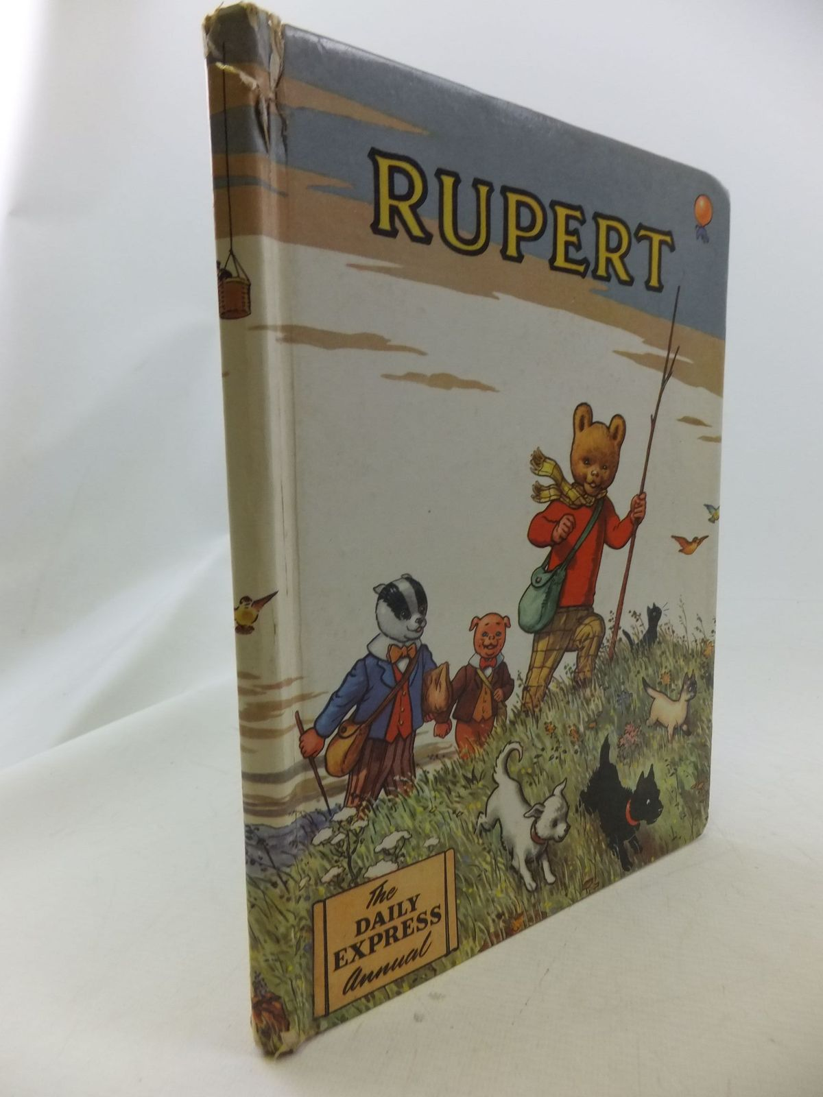 Photo of RUPERT ANNUAL 1955 written by Bestall, Alfred illustrated by Bestall, Alfred published by Daily Express (STOCK CODE: 2114652)  for sale by Stella & Rose's Books