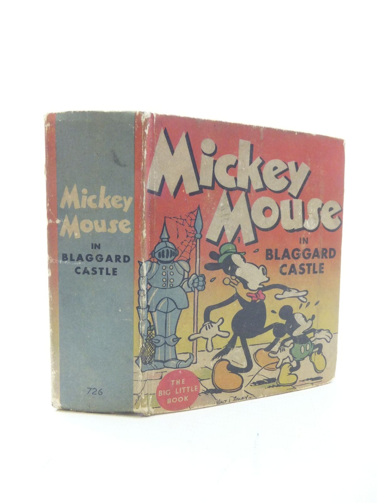 Photo of MICKEY MOUSE IN BLAGGARD CASTLE written by Disney, Walt illustrated by Disney, Walt published by Whitman Publishing Company (STOCK CODE: 2114657)  for sale by Stella & Rose's Books