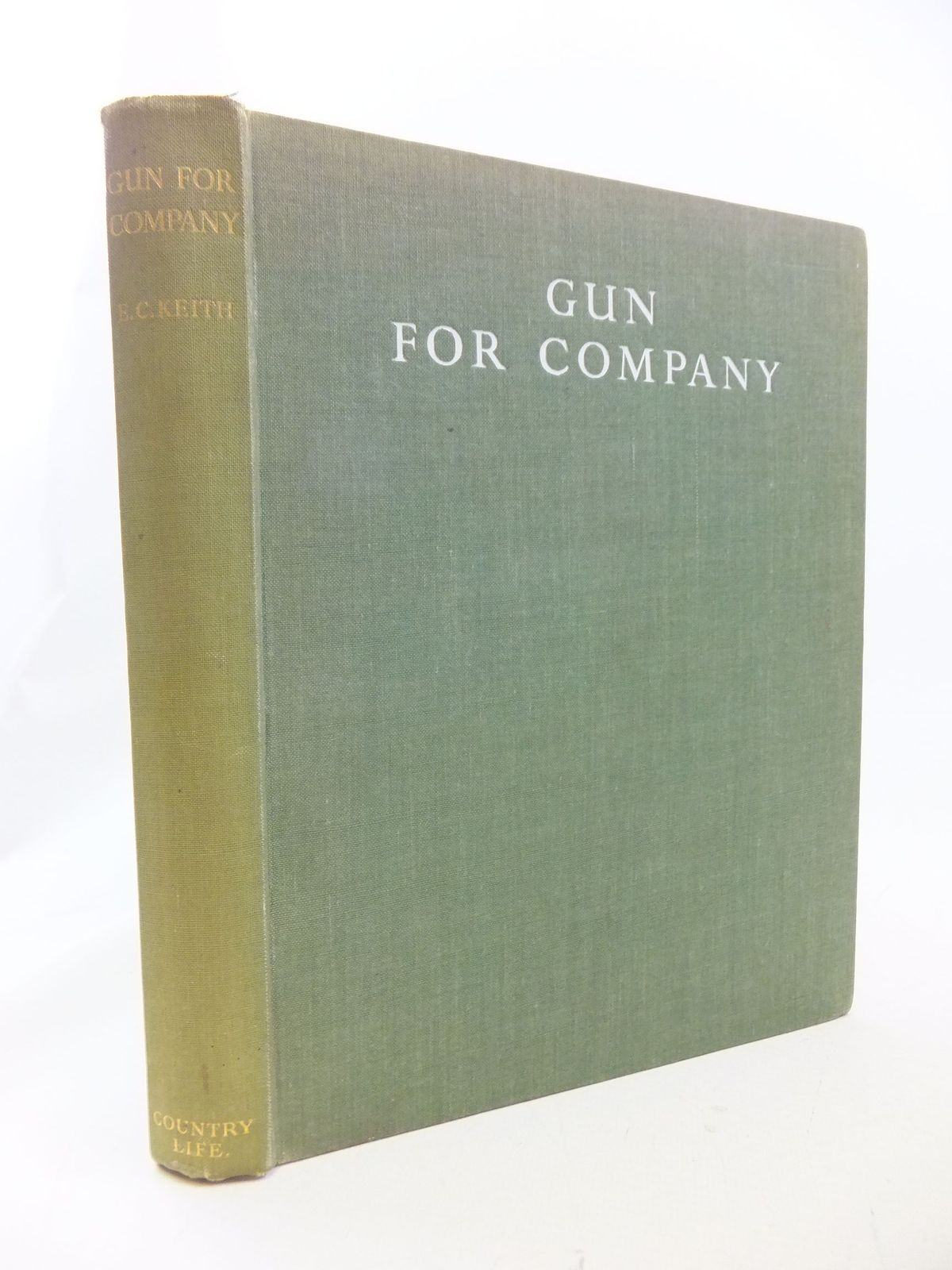 Photo of GUN FOR COMPANY written by Keith, E.C. illustrated by Harrison, J.C. published by Country Life Ltd. (STOCK CODE: 2114675)  for sale by Stella & Rose's Books