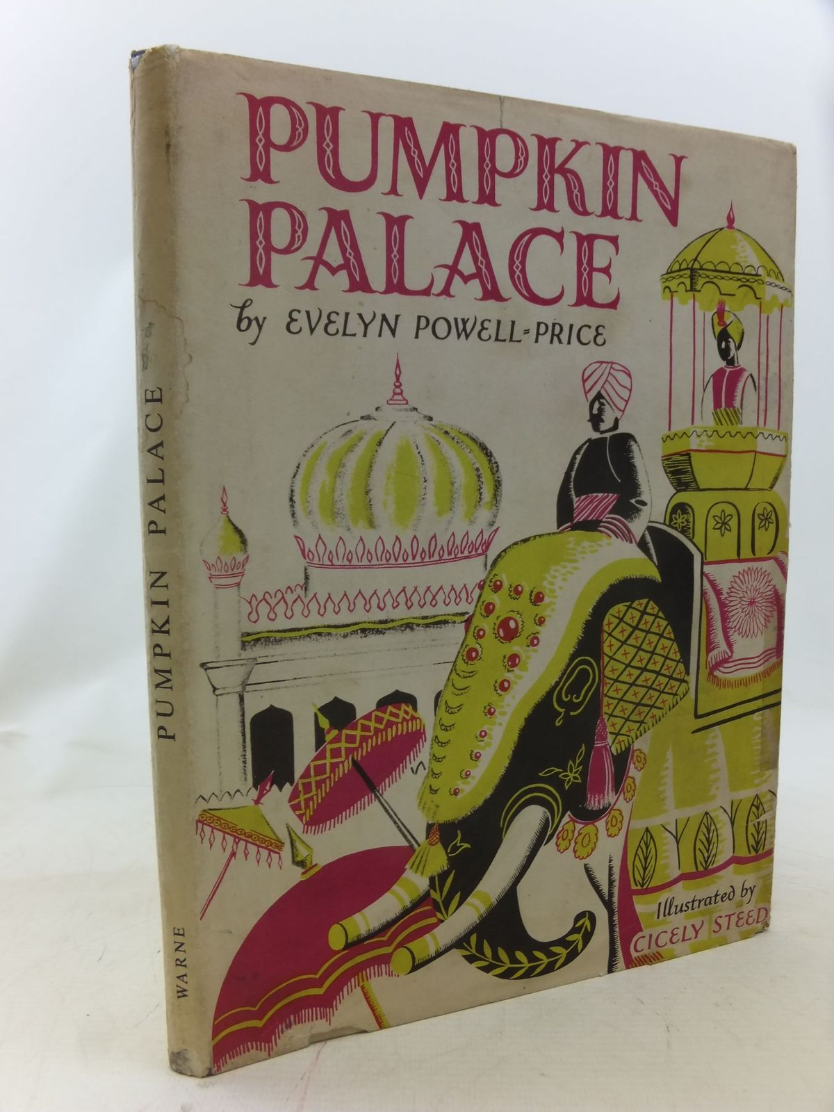 Photo of PUMPKIN PALACE written by Powell-Price, Evelyn illustrated by Steed, Cicely published by Frederick Warne & Co Ltd. (STOCK CODE: 2114718)  for sale by Stella & Rose's Books