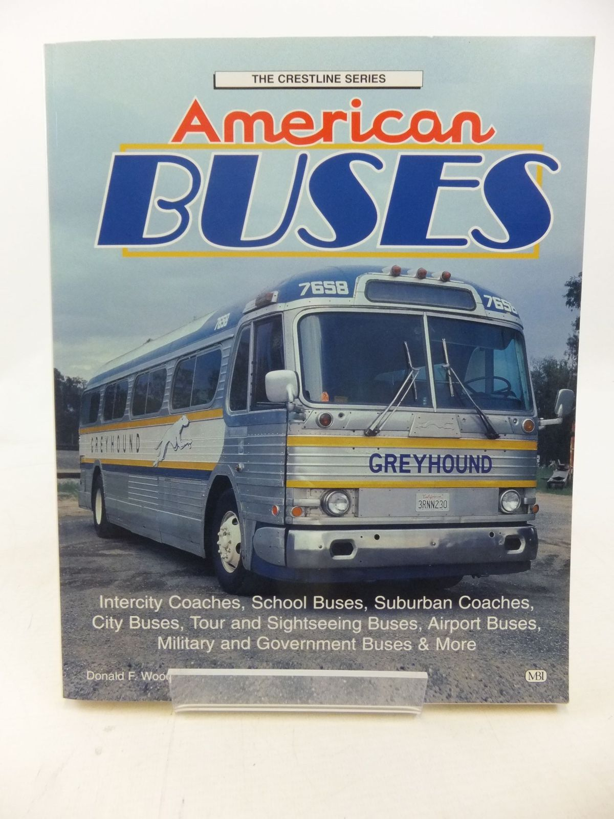 Photo of AMERICAN BUSES written by Wood, Donald F. published by Mbi Publishing (STOCK CODE: 2114756)  for sale by Stella & Rose's Books