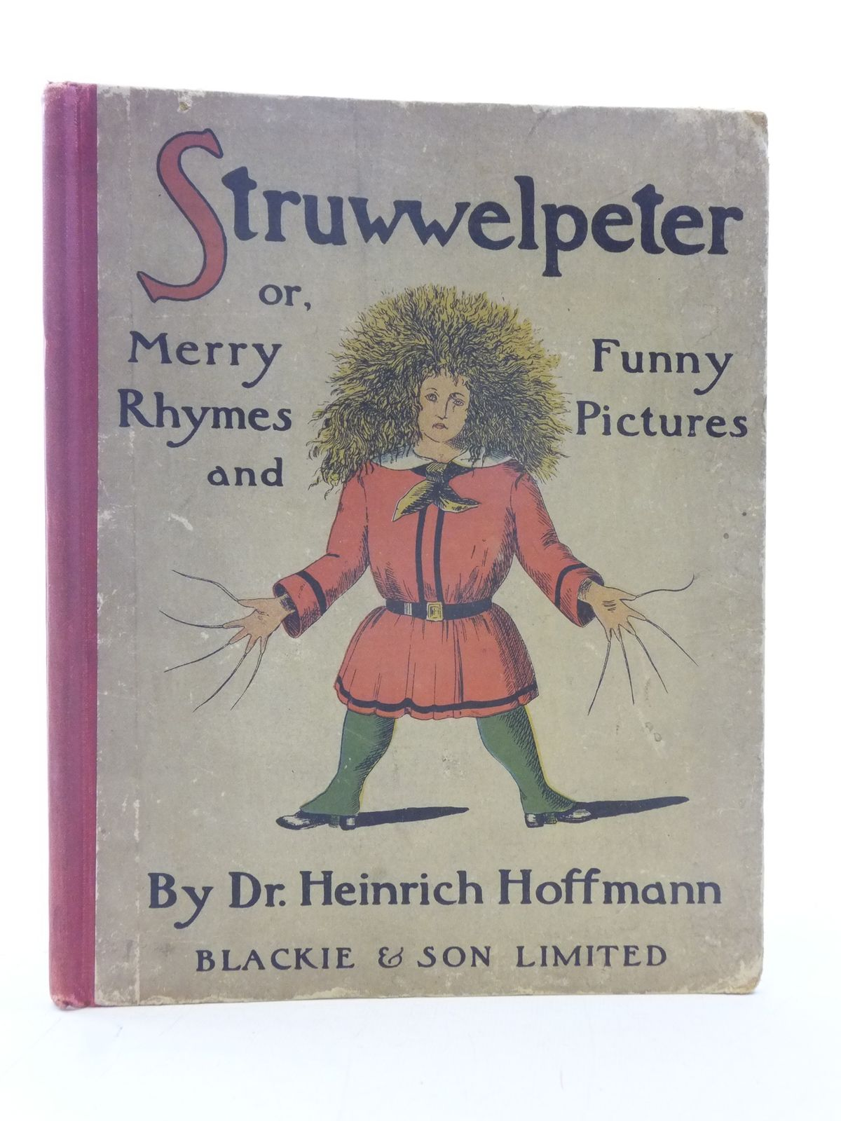 Photo of STRUWWELPETER written by Hoffmann, Heinrich published by Blackie & Son Ltd. (STOCK CODE: 2114800)  for sale by Stella & Rose's Books