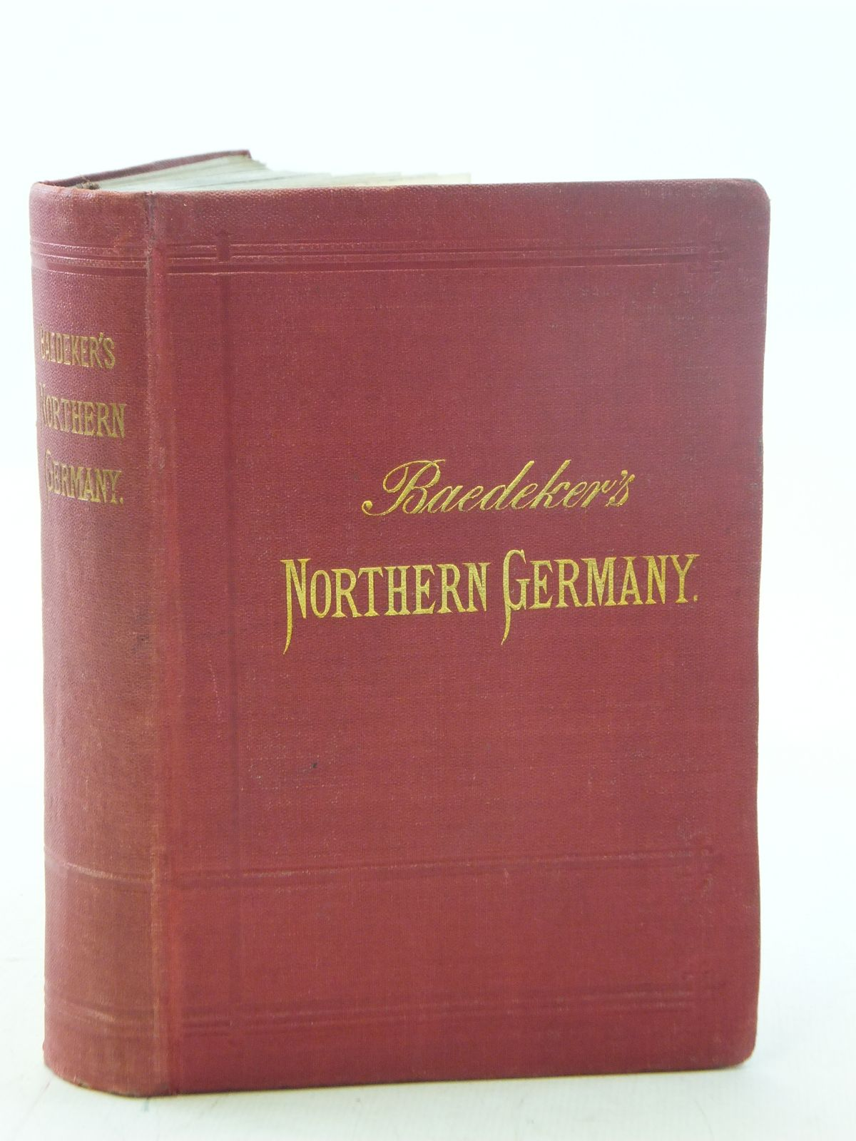 Photo of NORTHERN GERMANY written by Baedeker, Karl published by Karl Baedeker (STOCK CODE: 2114855)  for sale by Stella & Rose's Books