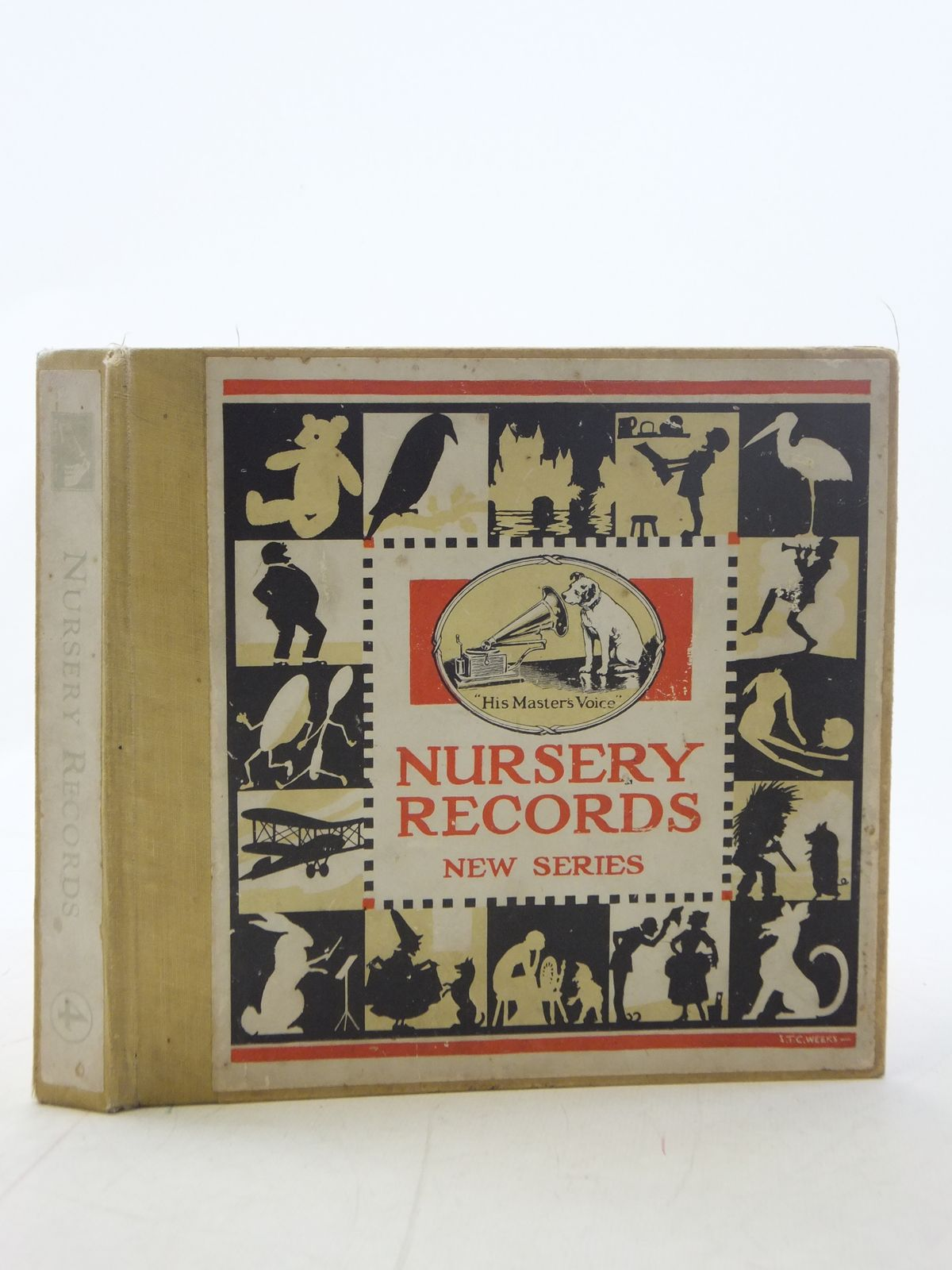 Photo of NURSERY RECORDS NEW SERIES written by Hall, Arthur<br />et al, published by The Gramophone Co. (STOCK CODE: 2114856)  for sale by Stella & Rose's Books