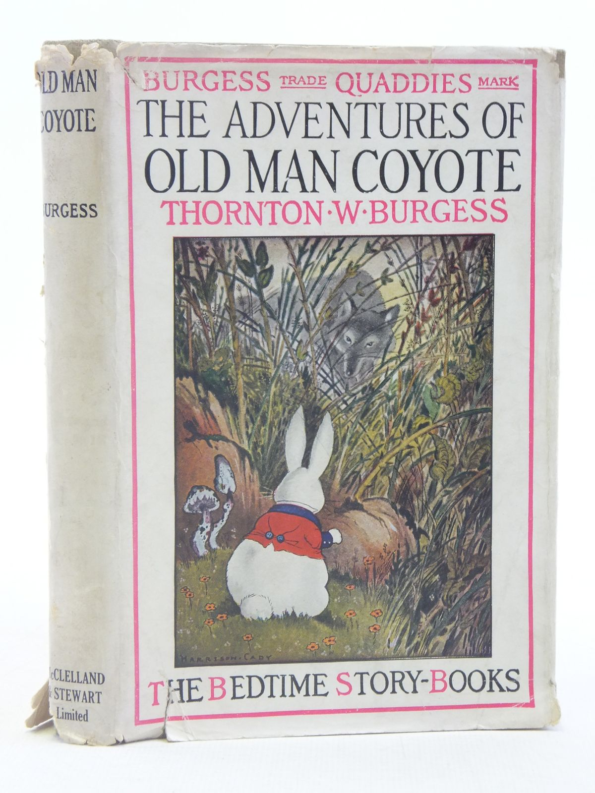 Photo of THE ADVENTURES OF OLD MAN COYOTE written by Burgess, Thornton W. illustrated by Cady, Harrison published by John Lane The Bodley Head (STOCK CODE: 2114861)  for sale by Stella & Rose's Books