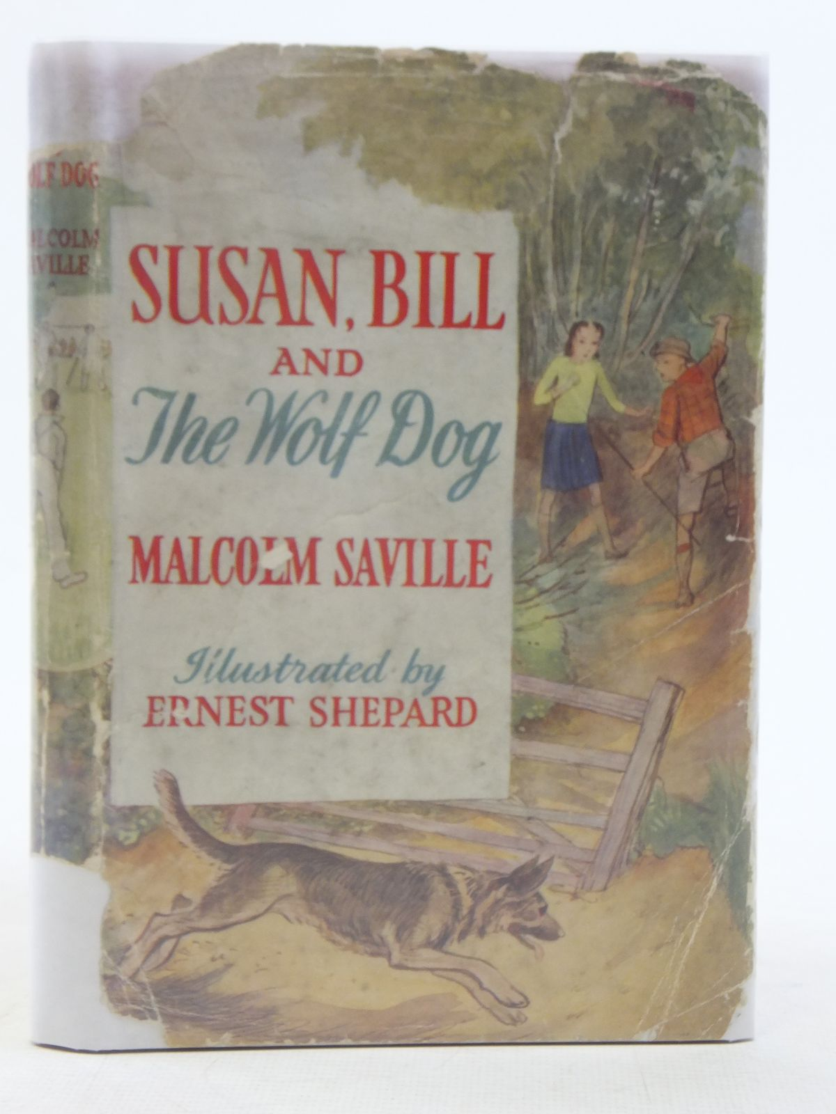 Photo of SUSAN, BILL AND THE WOLF-DOG written by Saville, Malcolm illustrated by Shepard, E.H. published by Thomas Nelson & Sons (STOCK CODE: 2114863)  for sale by Stella & Rose's Books