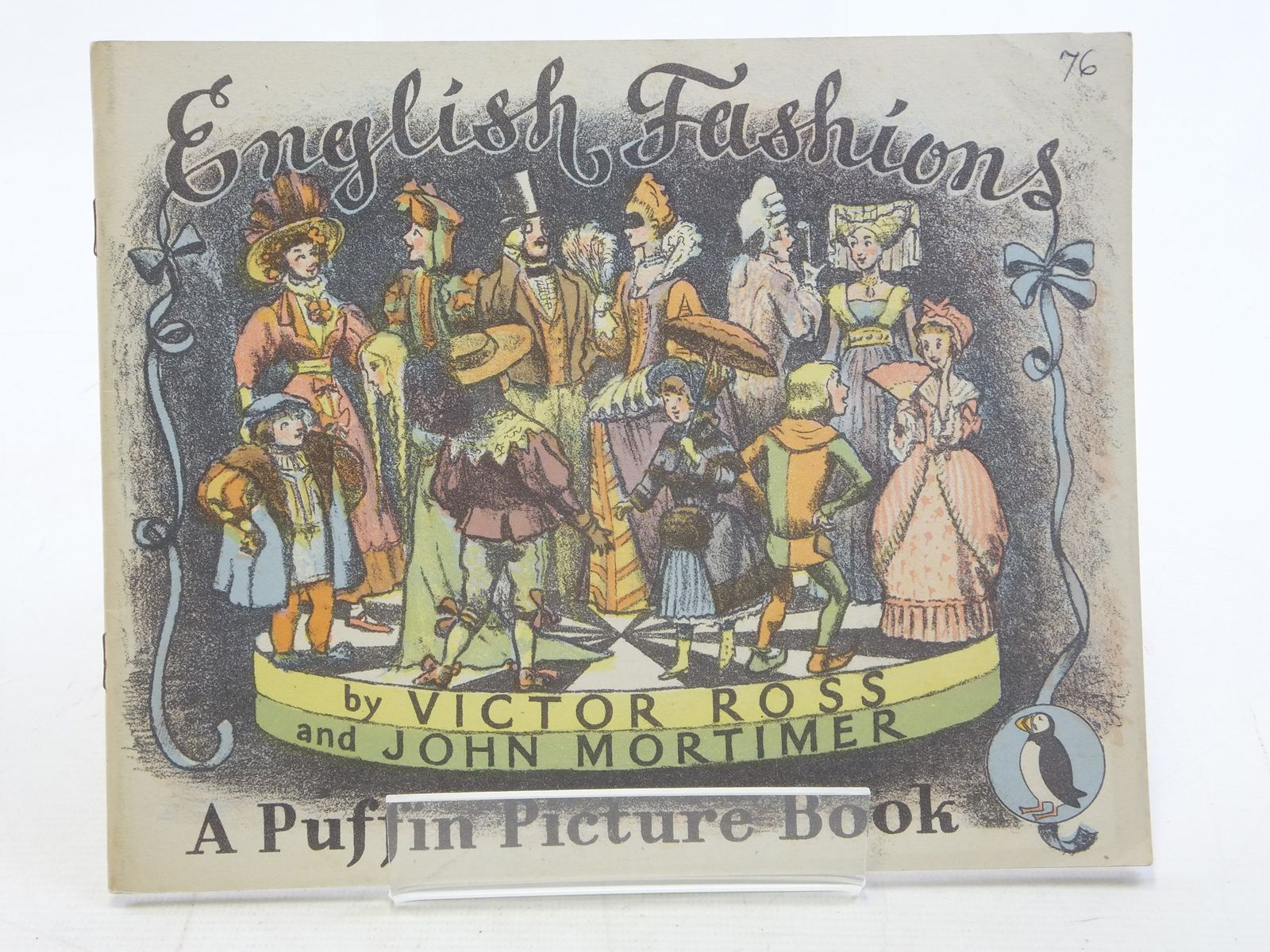 Photo of ENGLISH FASHIONS written by Mortimer, John illustrated by Ross, Victor published by Penguin (STOCK CODE: 2114883)  for sale by Stella & Rose's Books