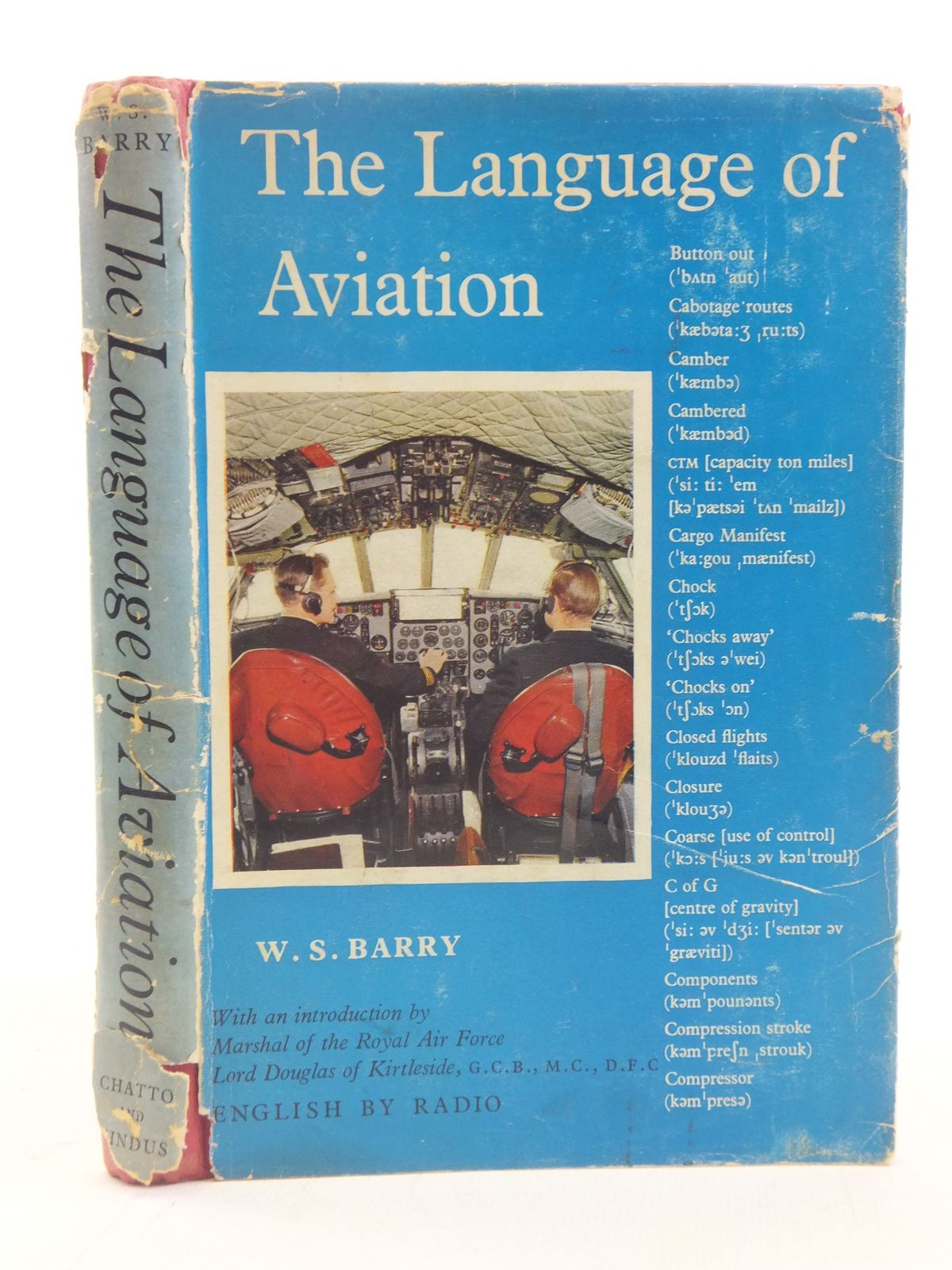 Photo of THE LANGUAGE OF AVIATION written by Barry, W.S. published by Chatto & Windus Ltd (STOCK CODE: 2114909)  for sale by Stella & Rose's Books