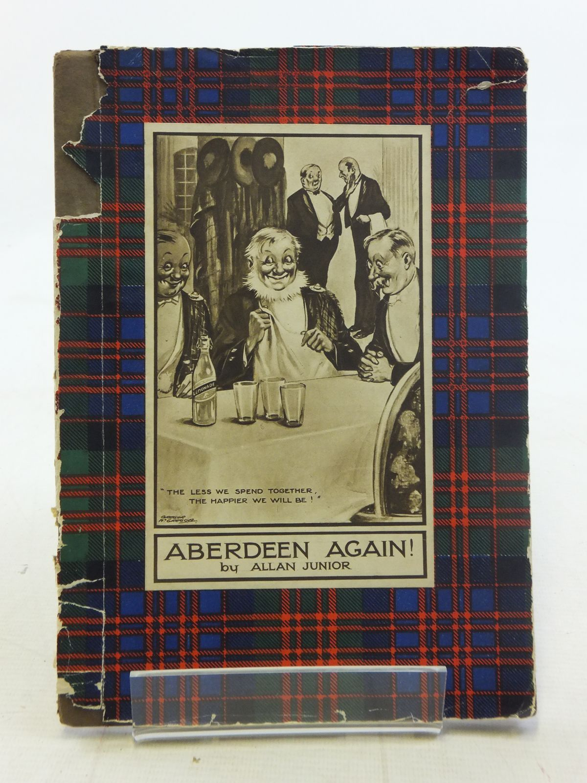 Photo of ABERDEEN AGAIN! written by Junior, Allan published by Valentine & Sons Ltd. (STOCK CODE: 2114964)  for sale by Stella & Rose's Books