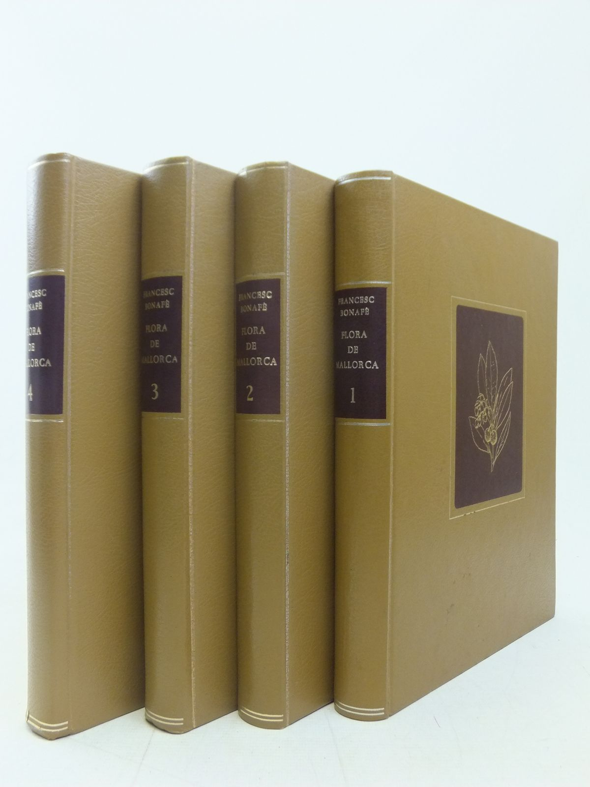 Photo of FLORA DE MALLORA (4 VOLUMES) written by Barcelo, Francesc Bonafe published by Editorial Moll (STOCK CODE: 2114978)  for sale by Stella & Rose's Books