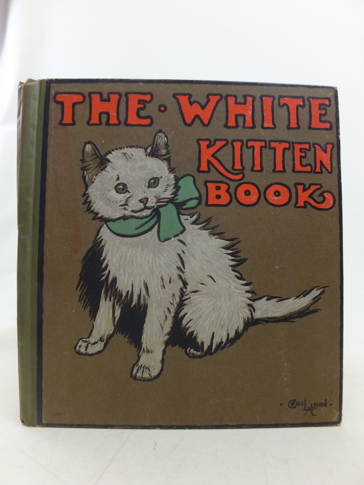 Photo of THE WHITE KITTEN BOOK