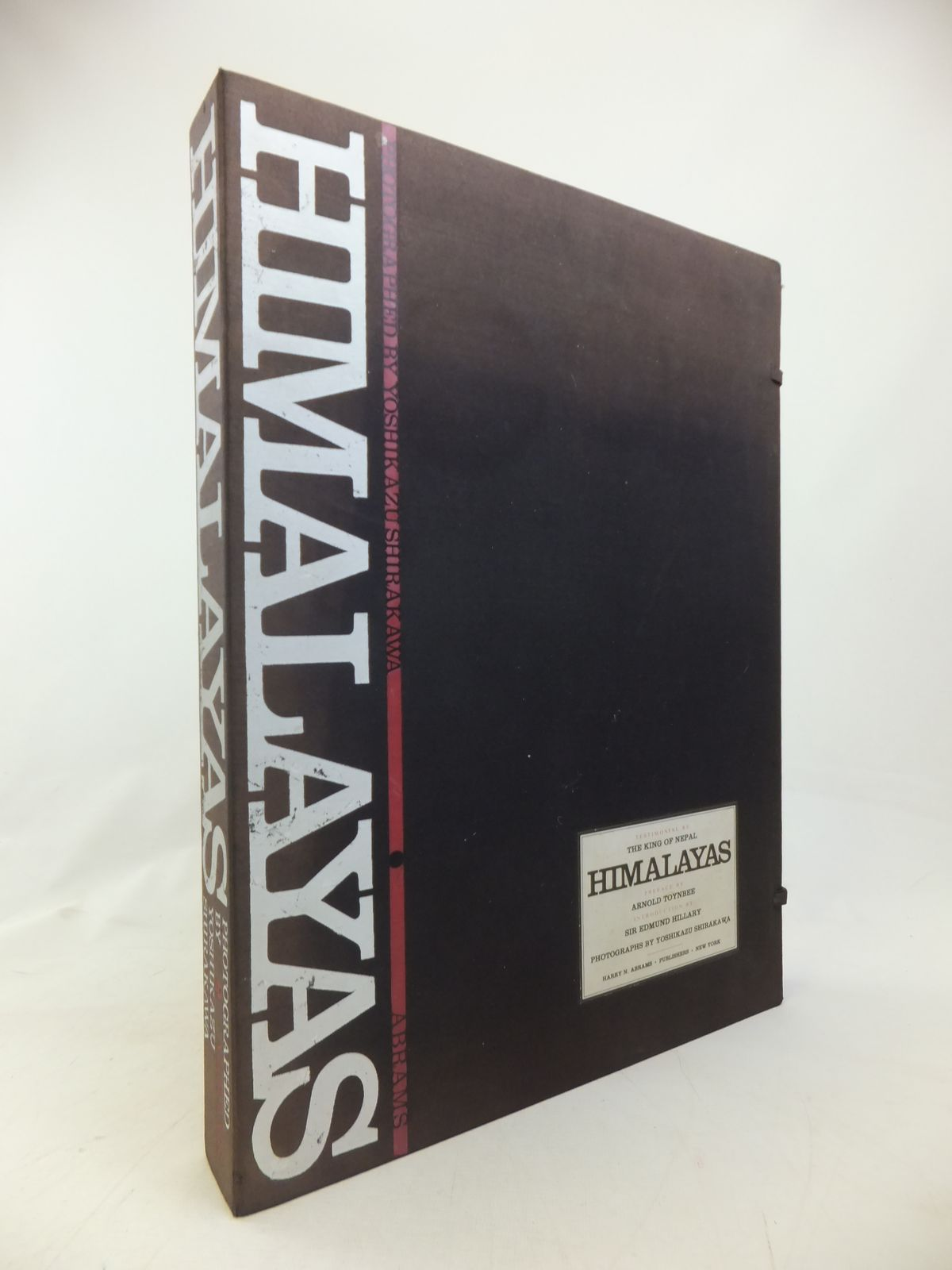 Photo of HIMALAYAS written by Shirakawa, Yoshikazu<br />Toynbee, Arnold J.<br />Hillary, Edmund published by Harry N. Abrams (STOCK CODE: 2115051)  for sale by Stella & Rose's Books