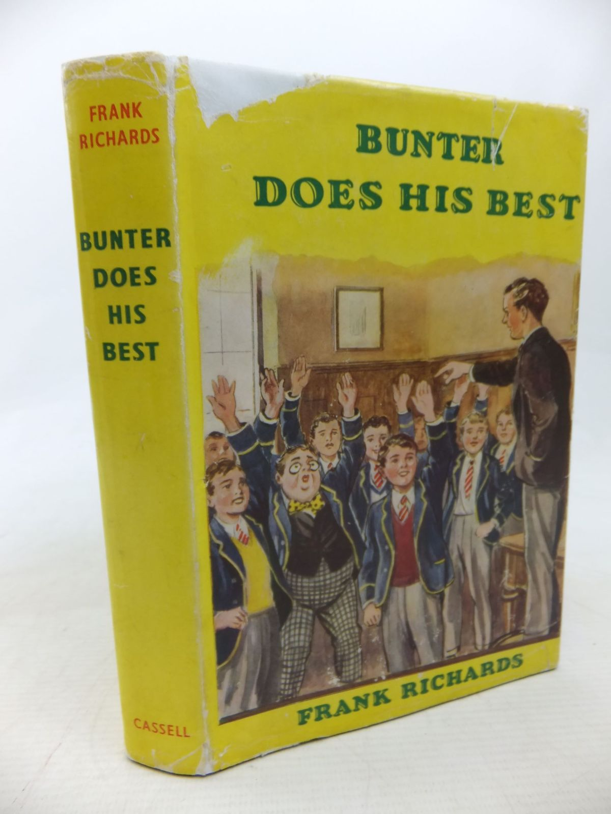 Photo of BUNTER DOES HIS BEST written by Richards, Frank illustrated by Macdonald, R.J. published by Cassell & Co. Ltd. (STOCK CODE: 2115141)  for sale by Stella & Rose's Books