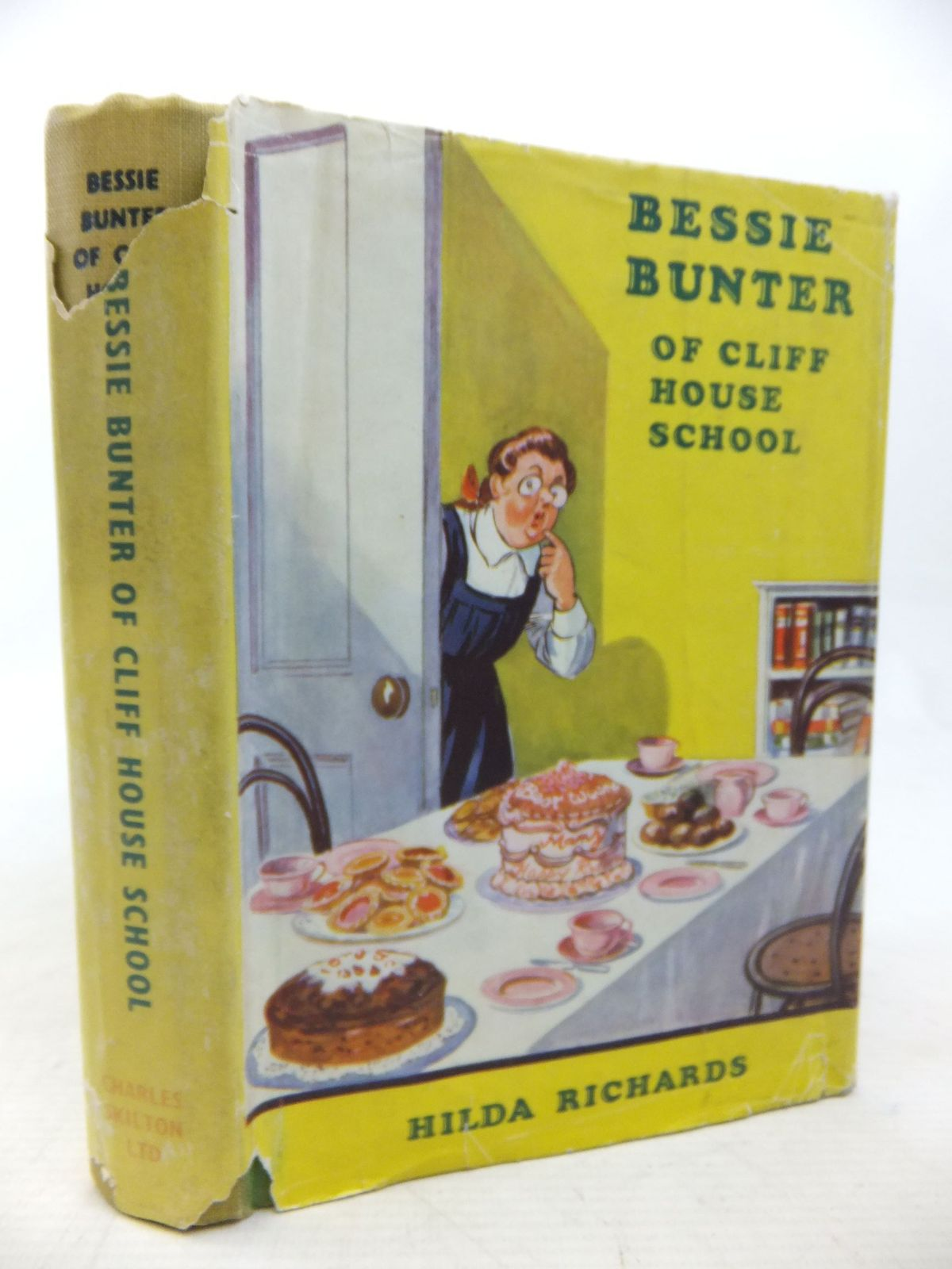 Photo of BESSIE BUNTER OF CLIFF HOUSE SCHOOL written by Richards, Hilda illustrated by Macdonald, R.J. published by Charles Skilton Ltd. (STOCK CODE: 2115143)  for sale by Stella & Rose's Books