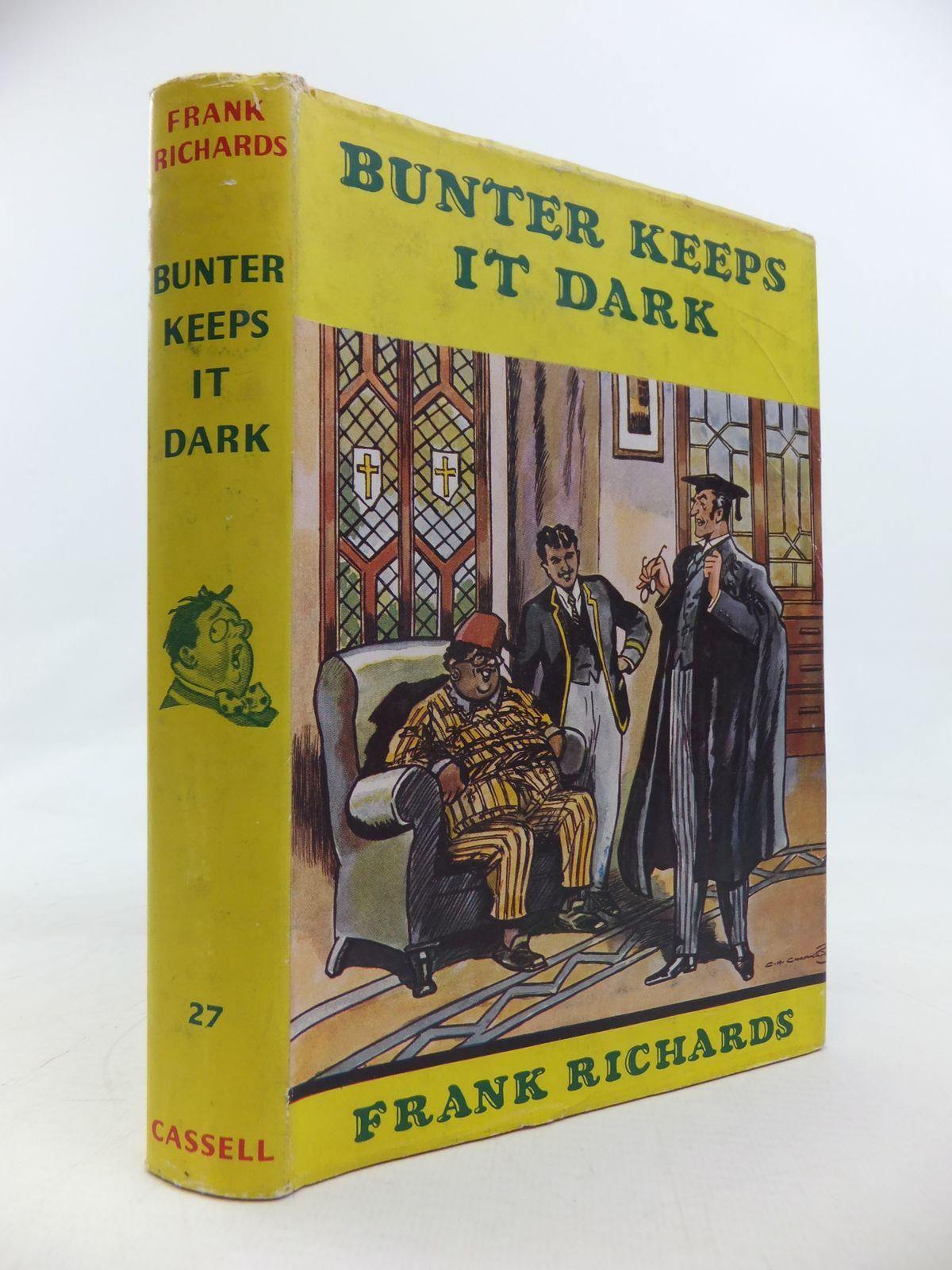 Photo of BUNTER KEEPS IT DARK
