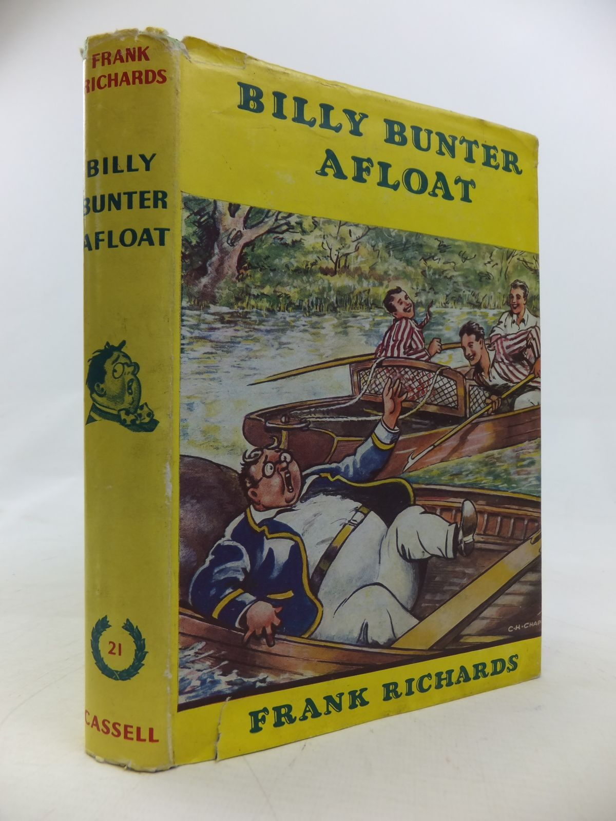 Photo of BILLY BUNTER AFLOAT written by Richards, Frank illustrated by Chapman, C.H. published by Cassell & Co. Ltd. (STOCK CODE: 2115626)  for sale by Stella & Rose's Books