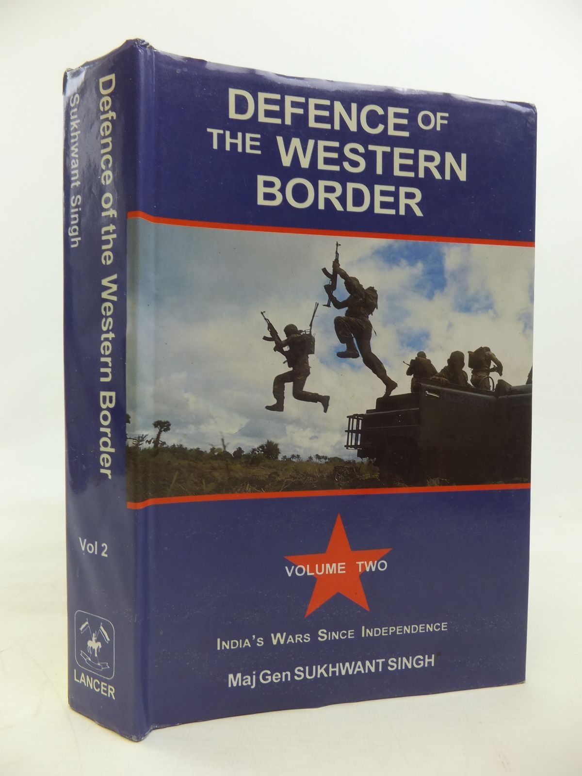Photo of DEFENCE OF THE WESTERN BORDER written by Singh, Sukhwant published by Lancer Publishers & Distributors (STOCK CODE: 2115694)  for sale by Stella & Rose's Books