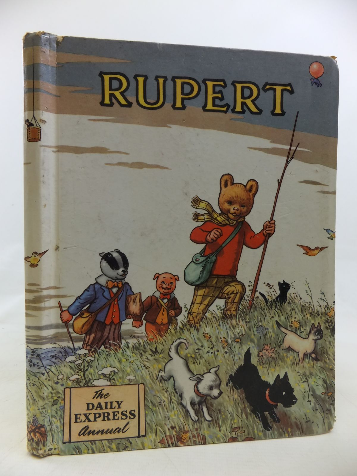 Photo of RUPERT ANNUAL 1955 written by Bestall, Alfred illustrated by Bestall, Alfred published by Daily Express (STOCK CODE: 2115738)  for sale by Stella & Rose's Books