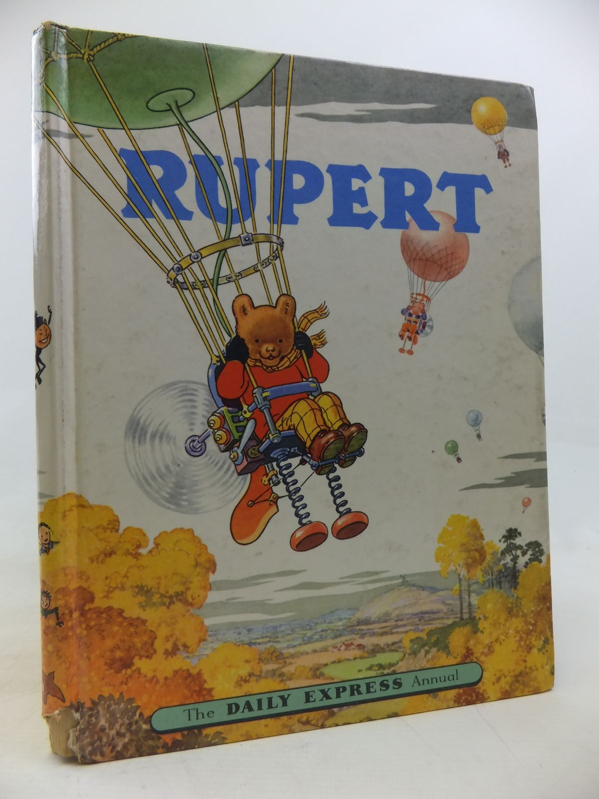 Photo of RUPERT ANNUAL 1957 written by Bestall, Alfred illustrated by Bestall, Alfred published by Daily Express (STOCK CODE: 2115739)  for sale by Stella & Rose's Books
