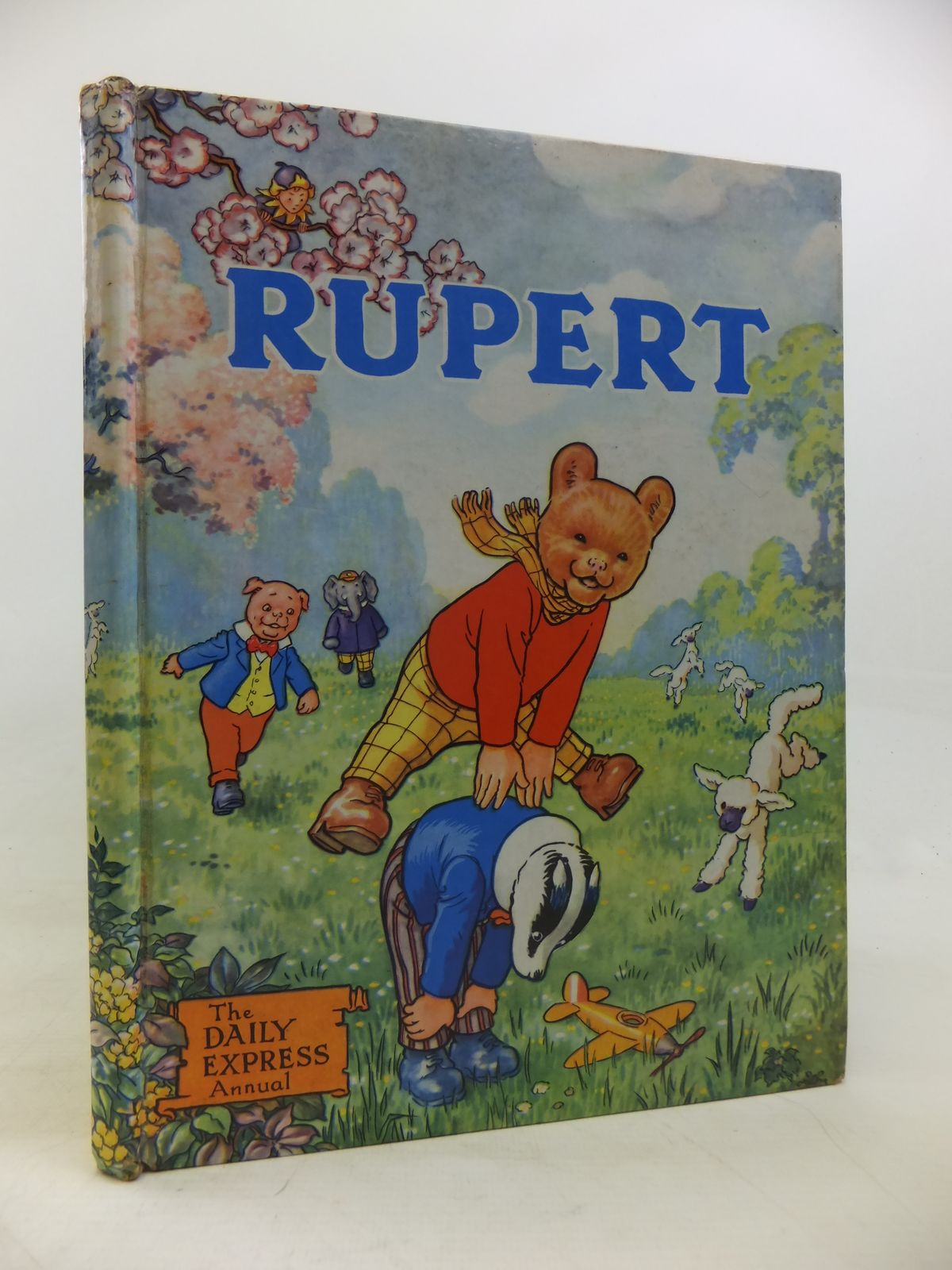 Photo of RUPERT ANNUAL 1958 written by Bestall, Alfred illustrated by Bestall, Alfred published by Daily Express (STOCK CODE: 2115740)  for sale by Stella & Rose's Books