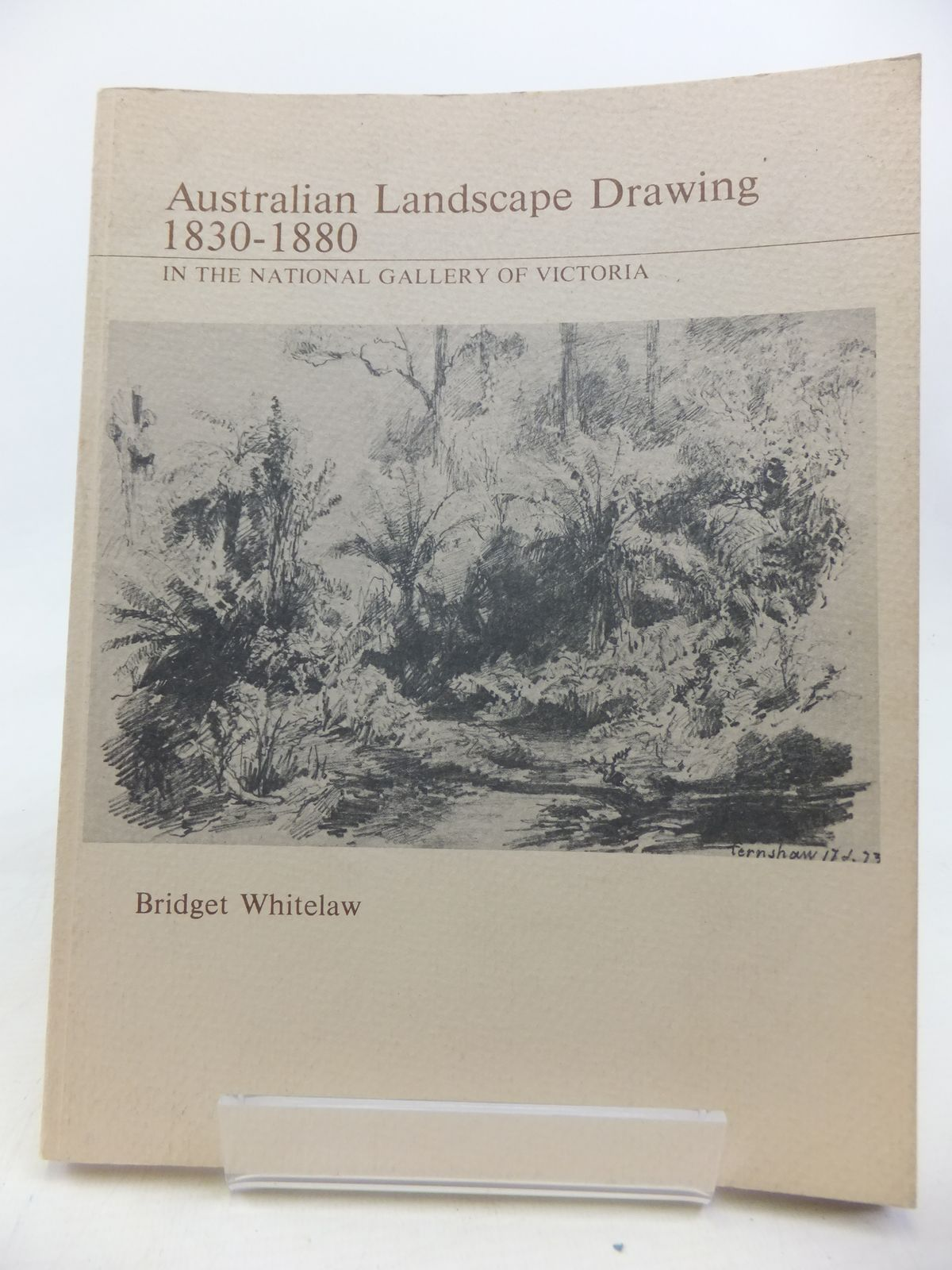 Photo of AUSTRALIAN LANDSCAPE DRAWING 1830-1880 written by Whitelaw, Bridget published by National Gallery Of Victoria (STOCK CODE: 2115824)  for sale by Stella & Rose's Books