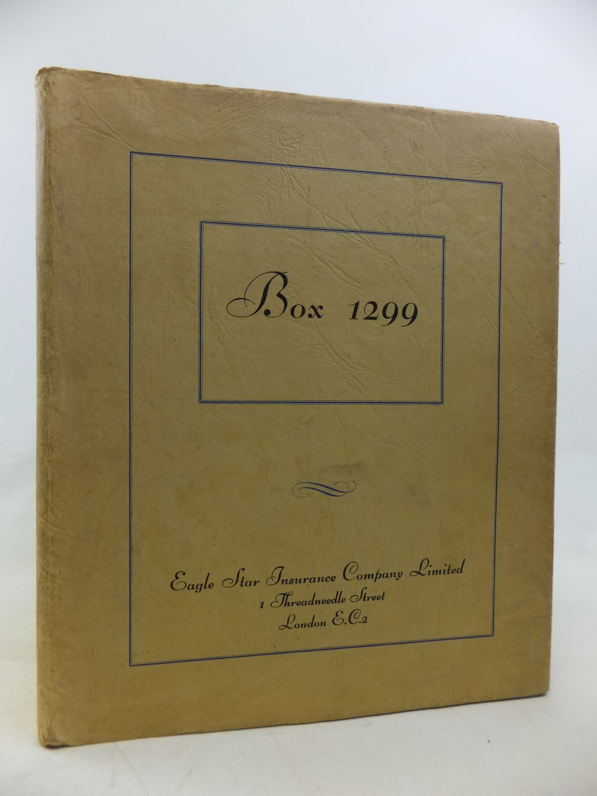 Photo of BOX 1299 written by Spater, Ernest George published by Eagle Star (STOCK CODE: 2115834)  for sale by Stella & Rose's Books